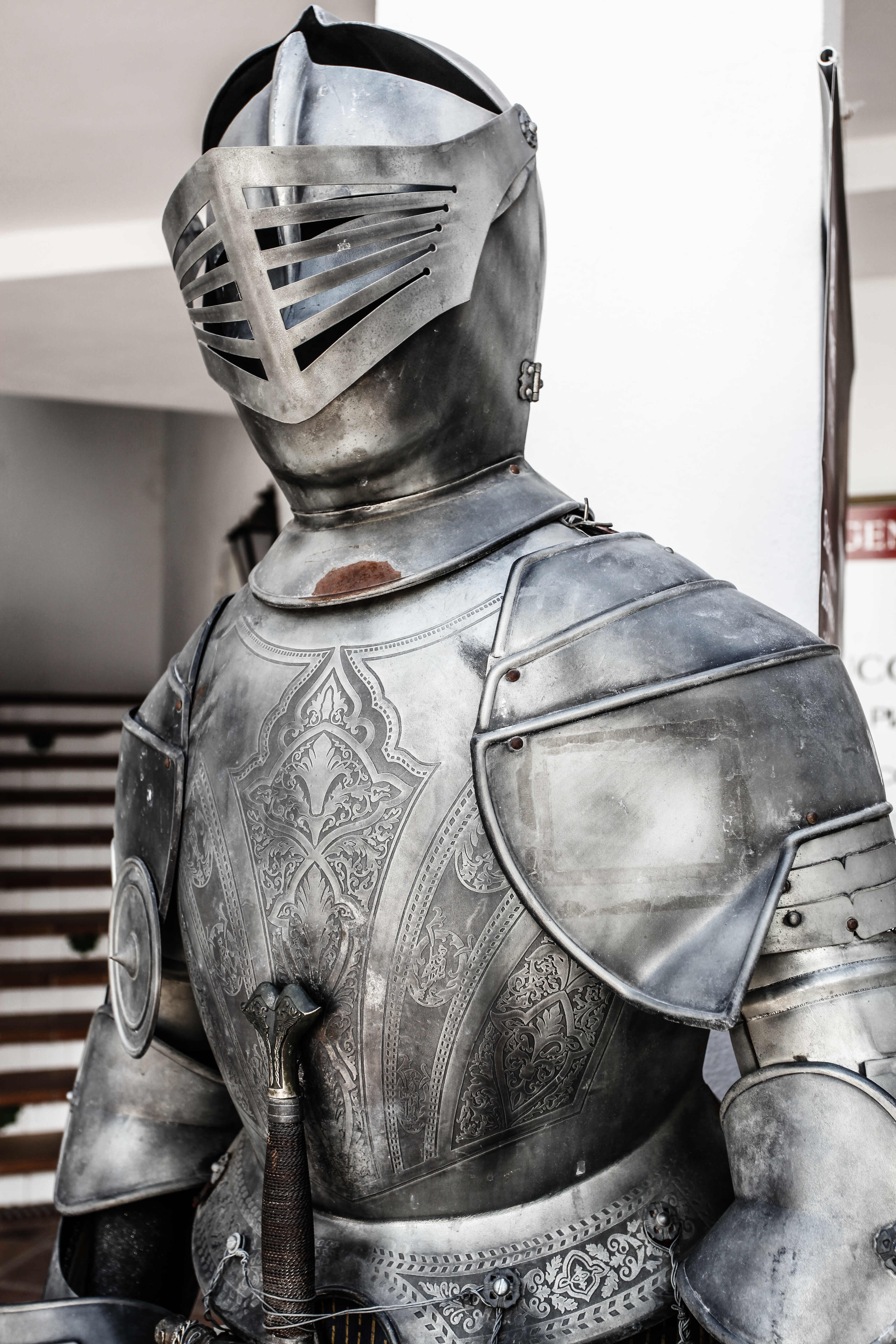 Full Body Armour, Ages, Middle, War, Sword, HQ Photo