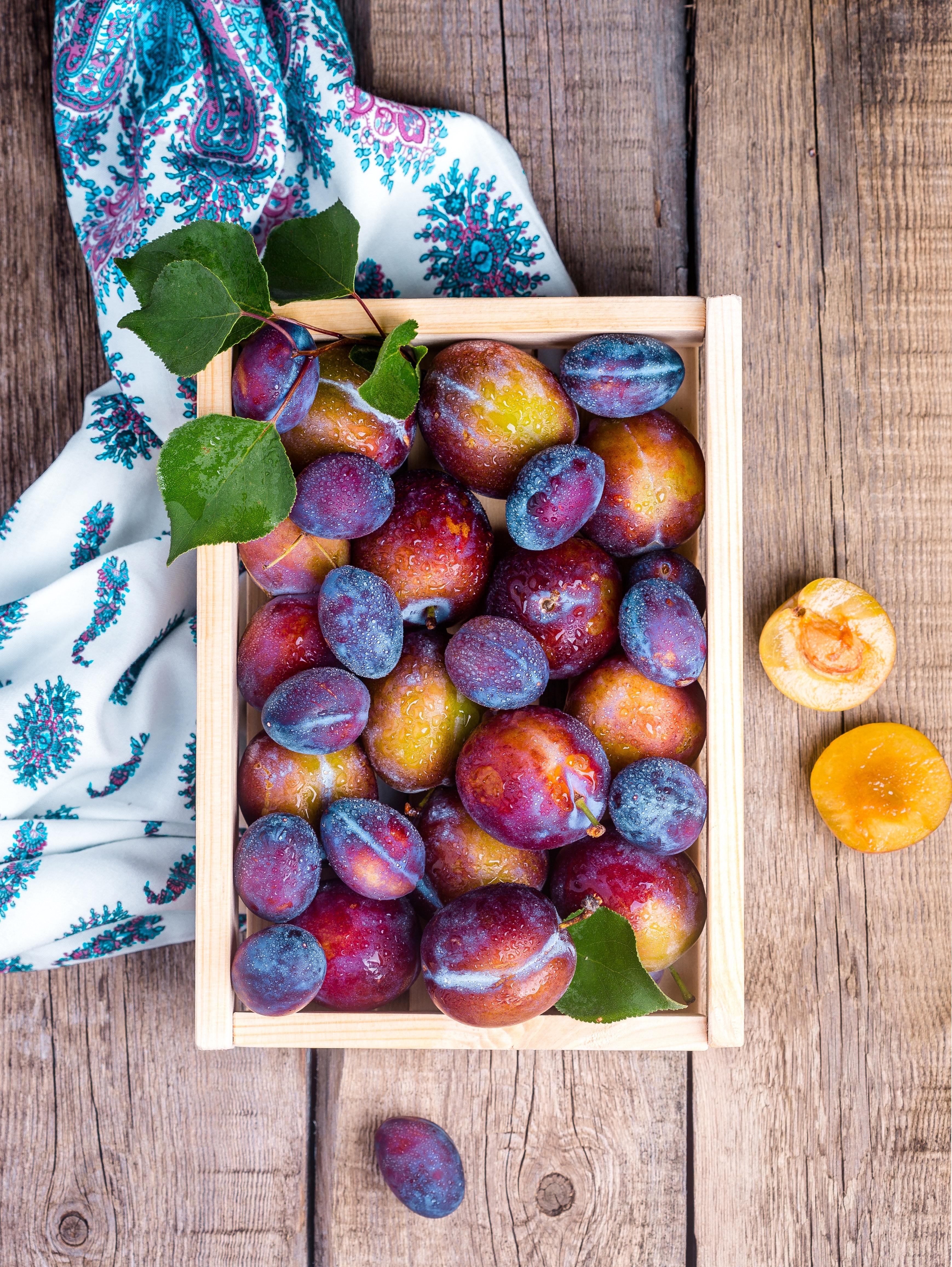 Full Frame Shot of Fruits and Tree, Box, High angle shot, Vitamins, Sweet, HQ Photo