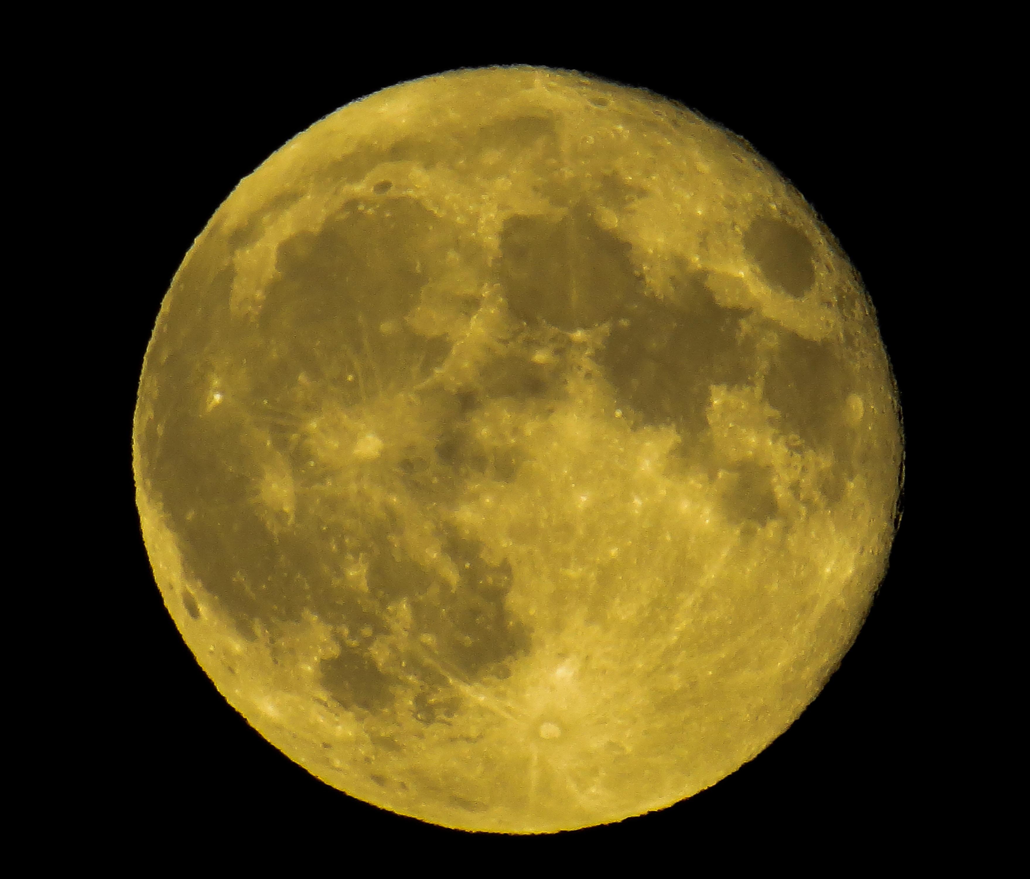 Full Moon, Circle, Full, Gravity, Lunar, HQ Photo