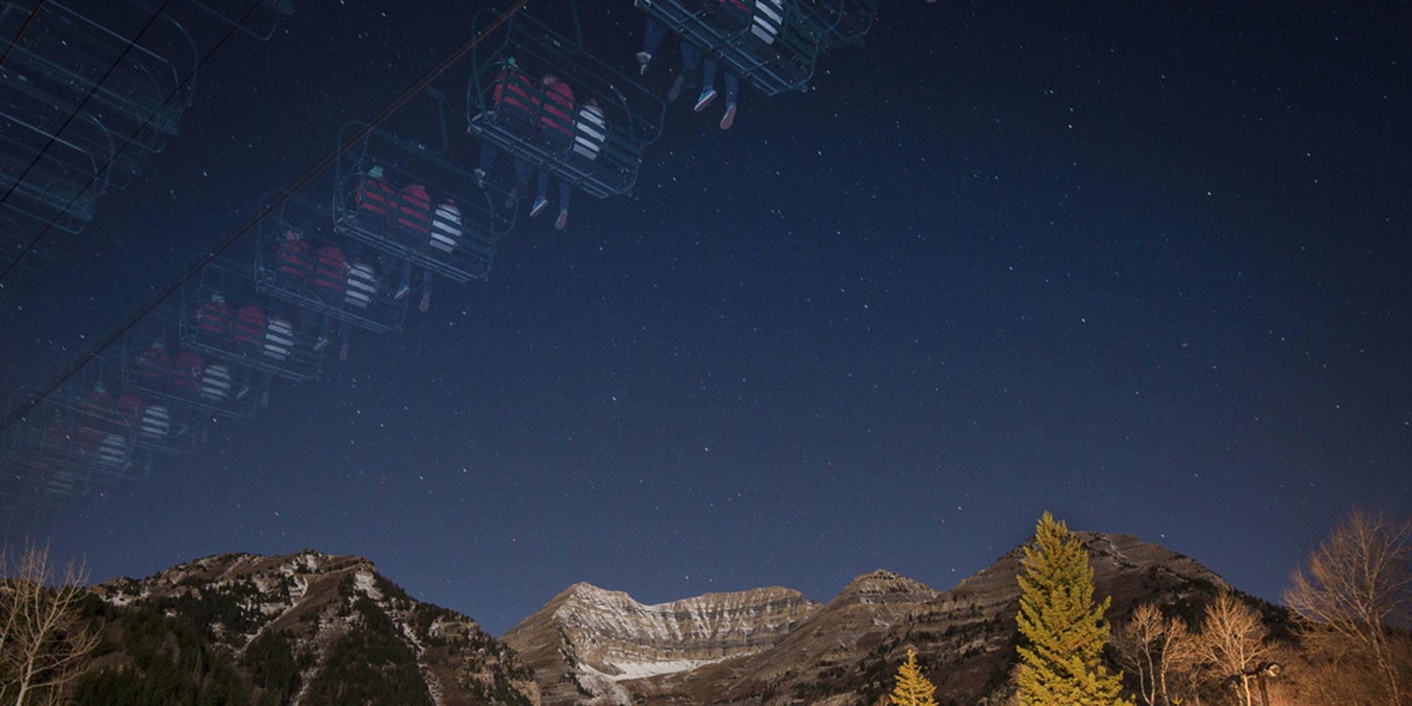 Sundance Mountain Resort | Full Moon Lift Rides | Sundance, Utah