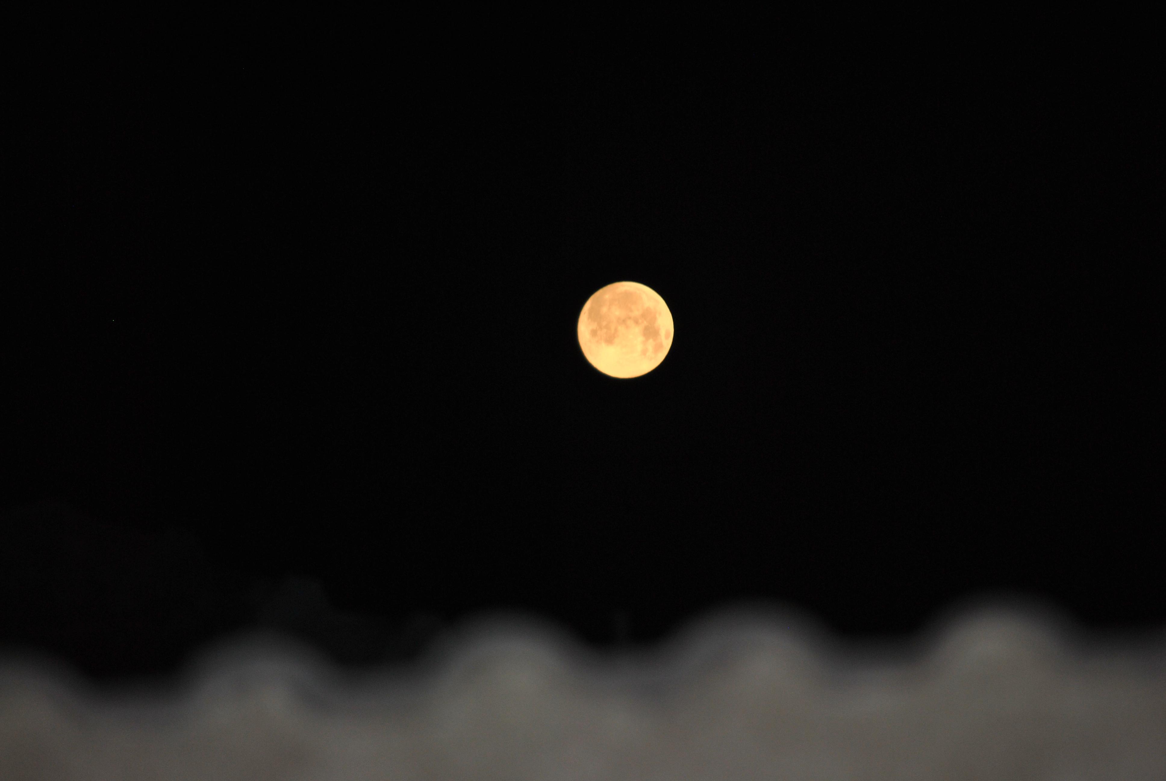 Full Moon, Full, Lunar, Moon, Space, HQ Photo