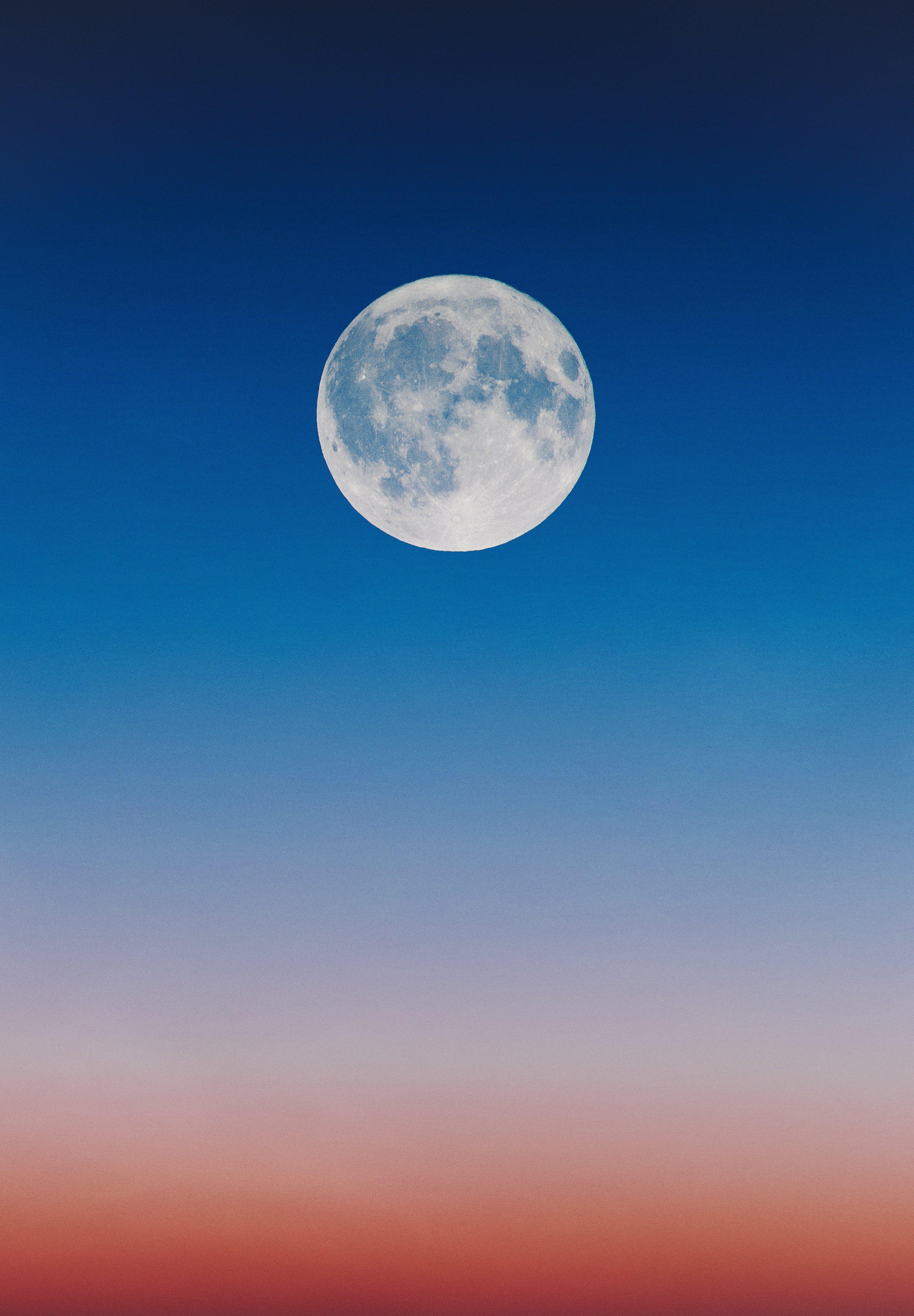 Full Moon Illustration — Steemit