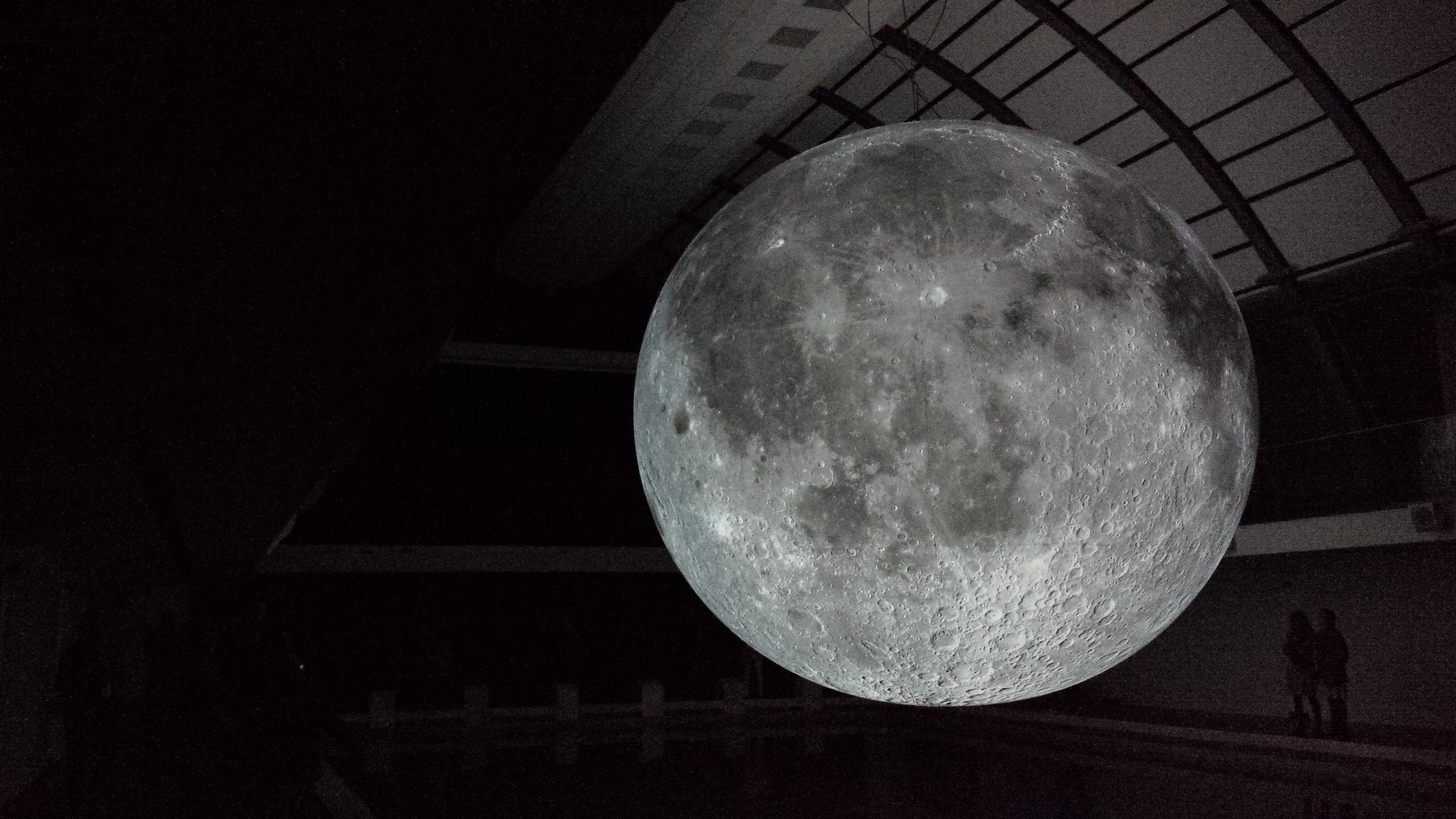 Full Moon Photo, Abstract, Moon, Sphere, Shadow, HQ Photo