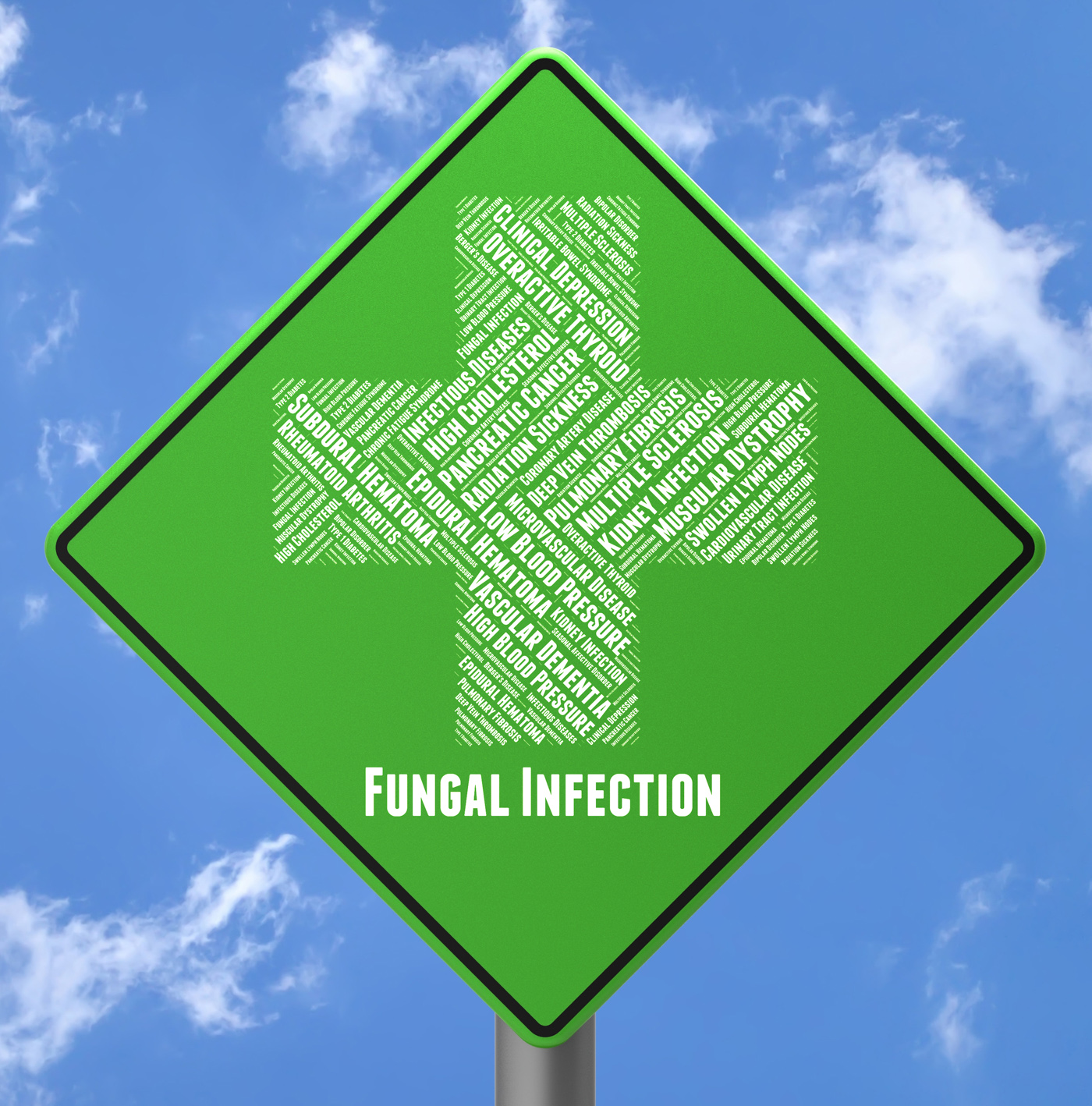 Fungal Infection Shows Poor Health And Afflictions, Advertisement, Infectious, Indisposition, Infect, HQ Photo