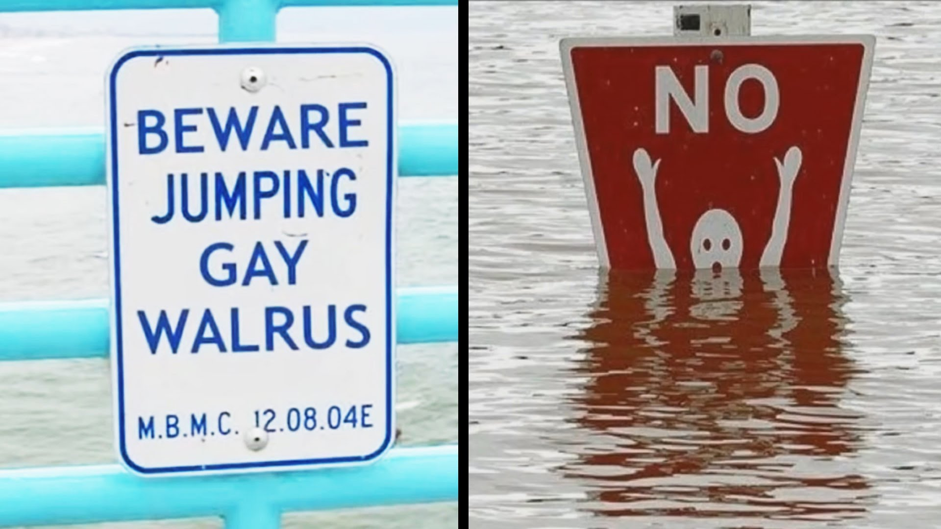 Funny sign photo