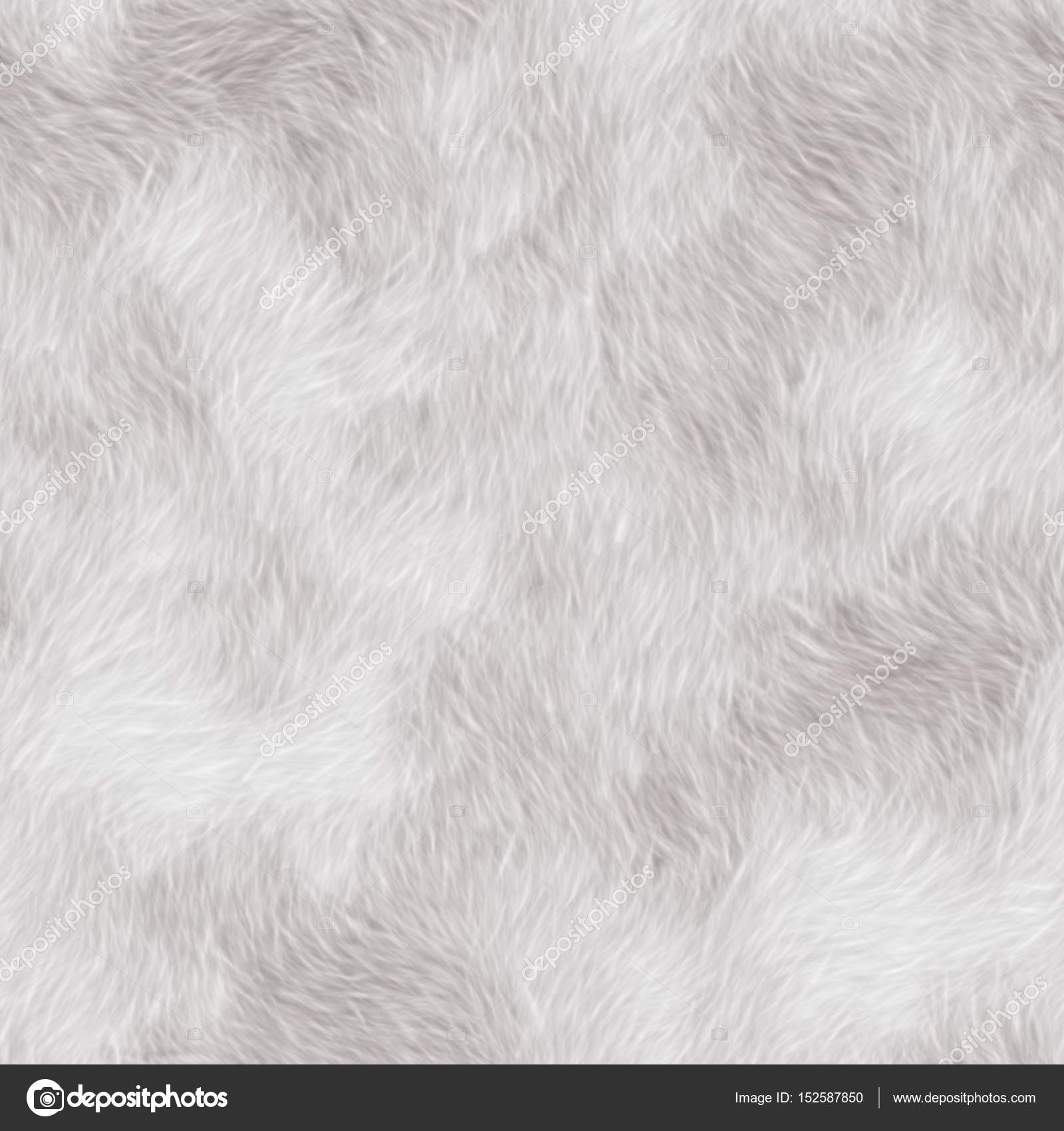 White fur texture. Seamless texture ore background. Fabric fur t ...