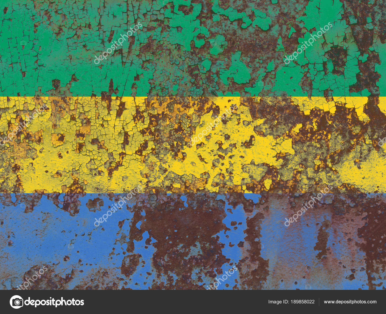 Old Gabon grunge background flag — Stock Photo © vladem #189858022