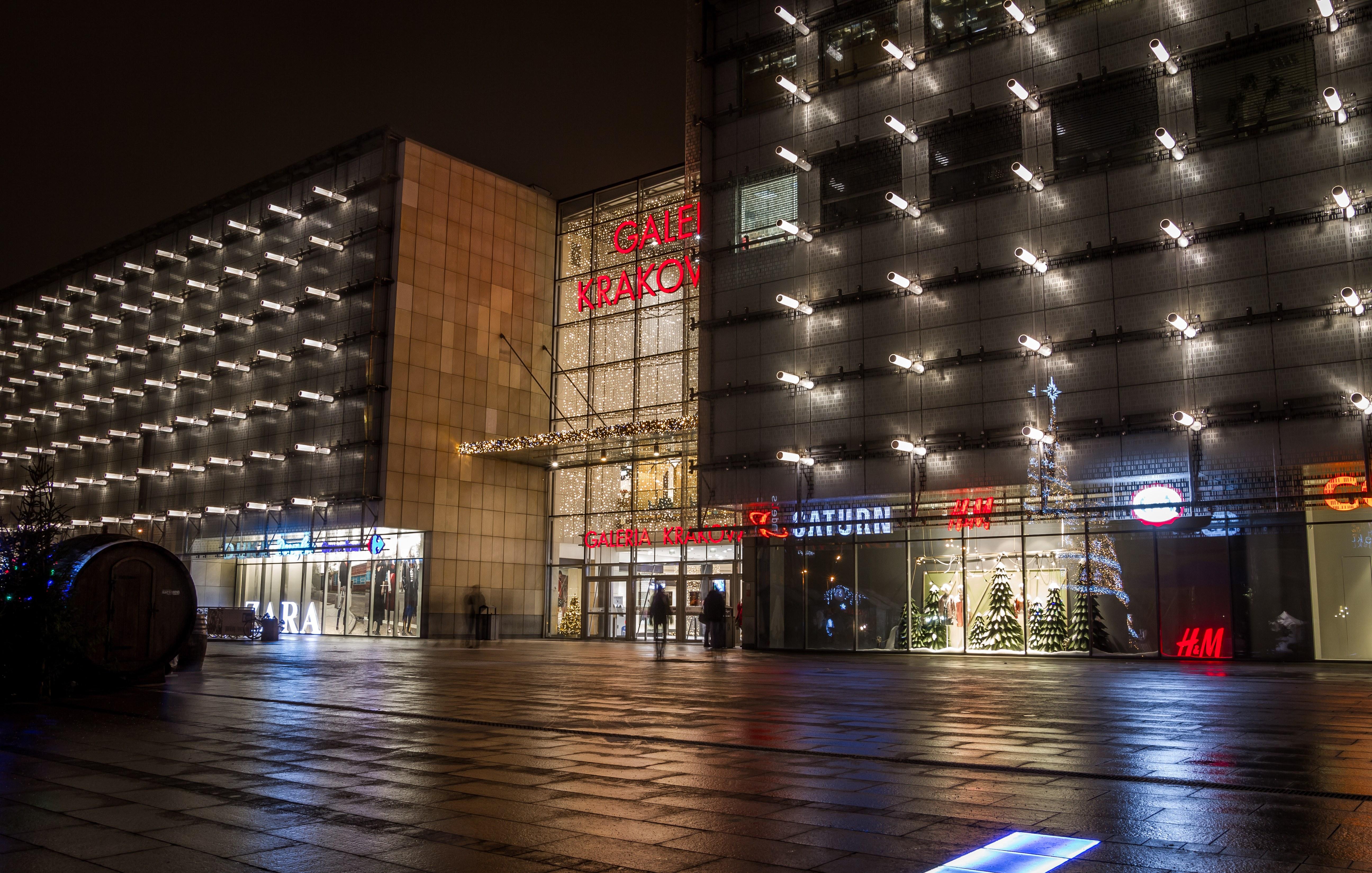 Galeria Krakowska Shopping Mall, Krakow, Poland, Architecture, Krakow, Travel, Supermarket, HQ Photo