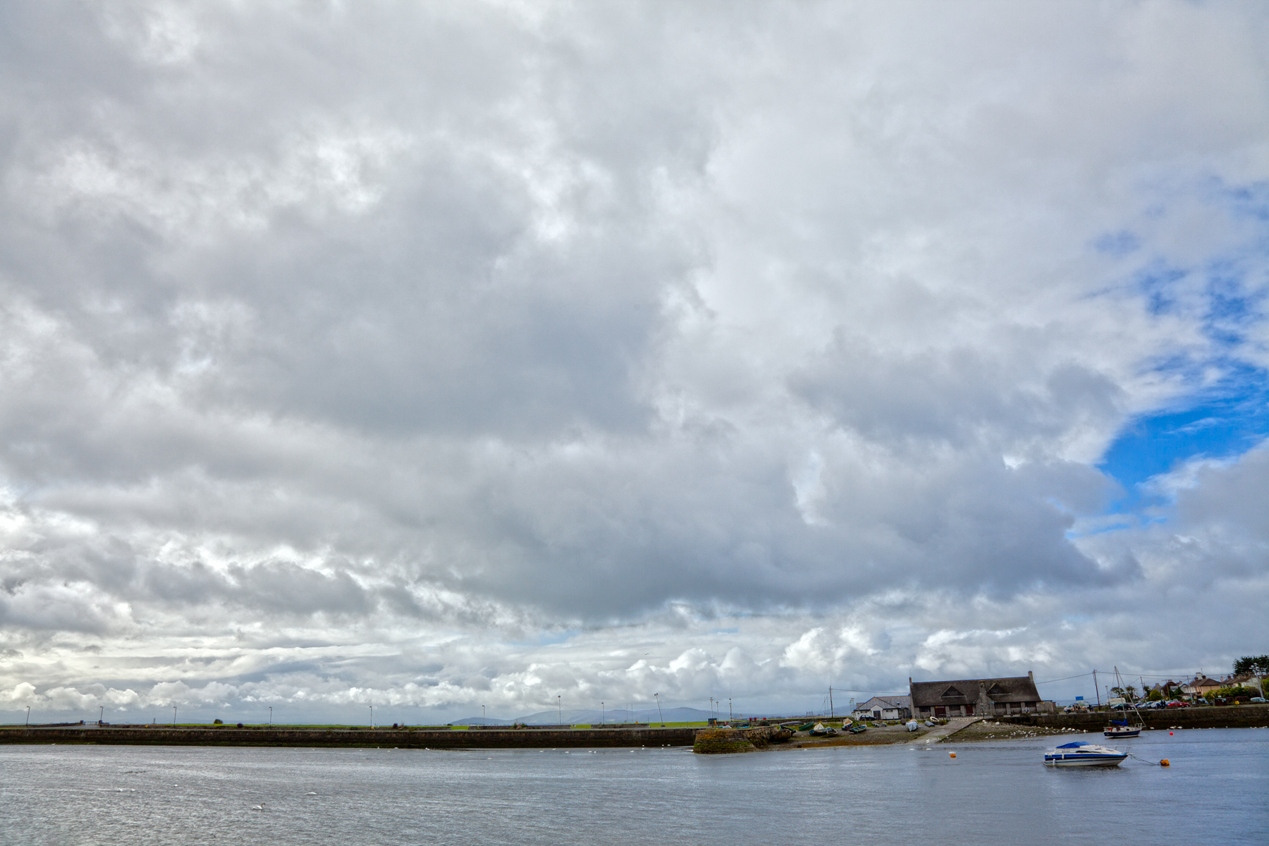 Galway cloudscape - hdr photo