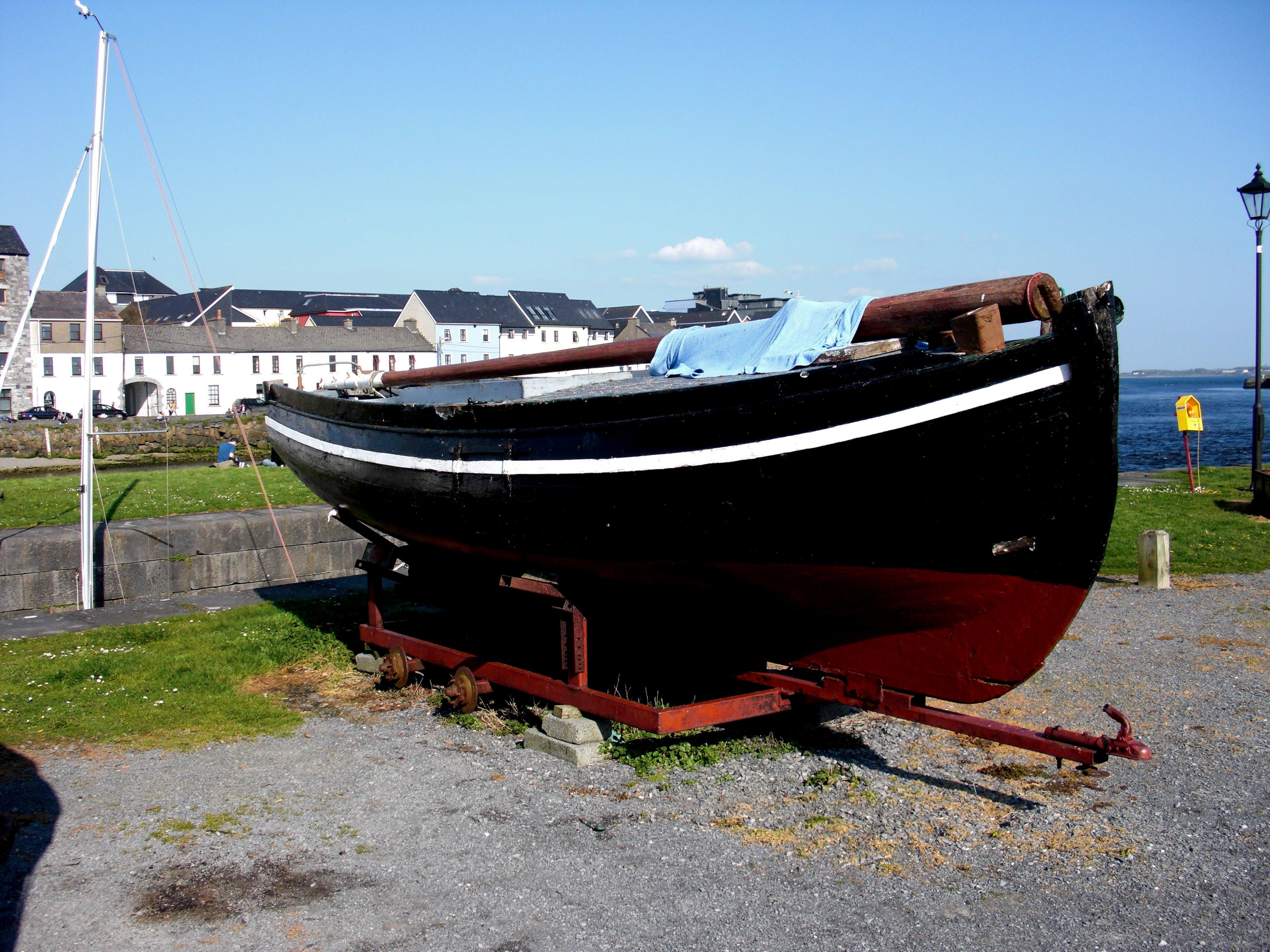 Galway Hooker - Fishing Vessel, Boats, Fish, Fisherman, Fishing, HQ Photo