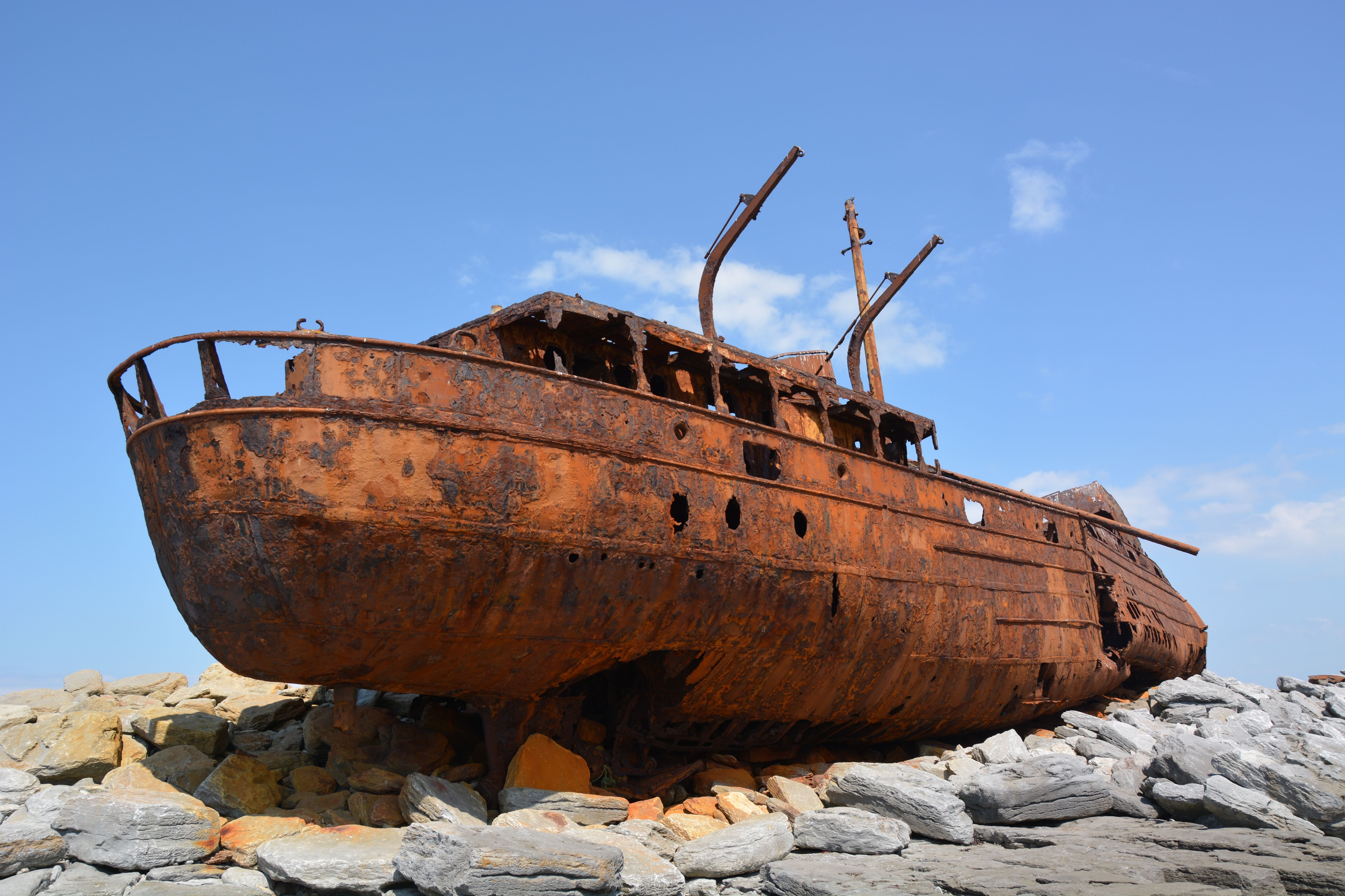More of a ship really.. the wreck of the Plassey lies on the isle of ...
