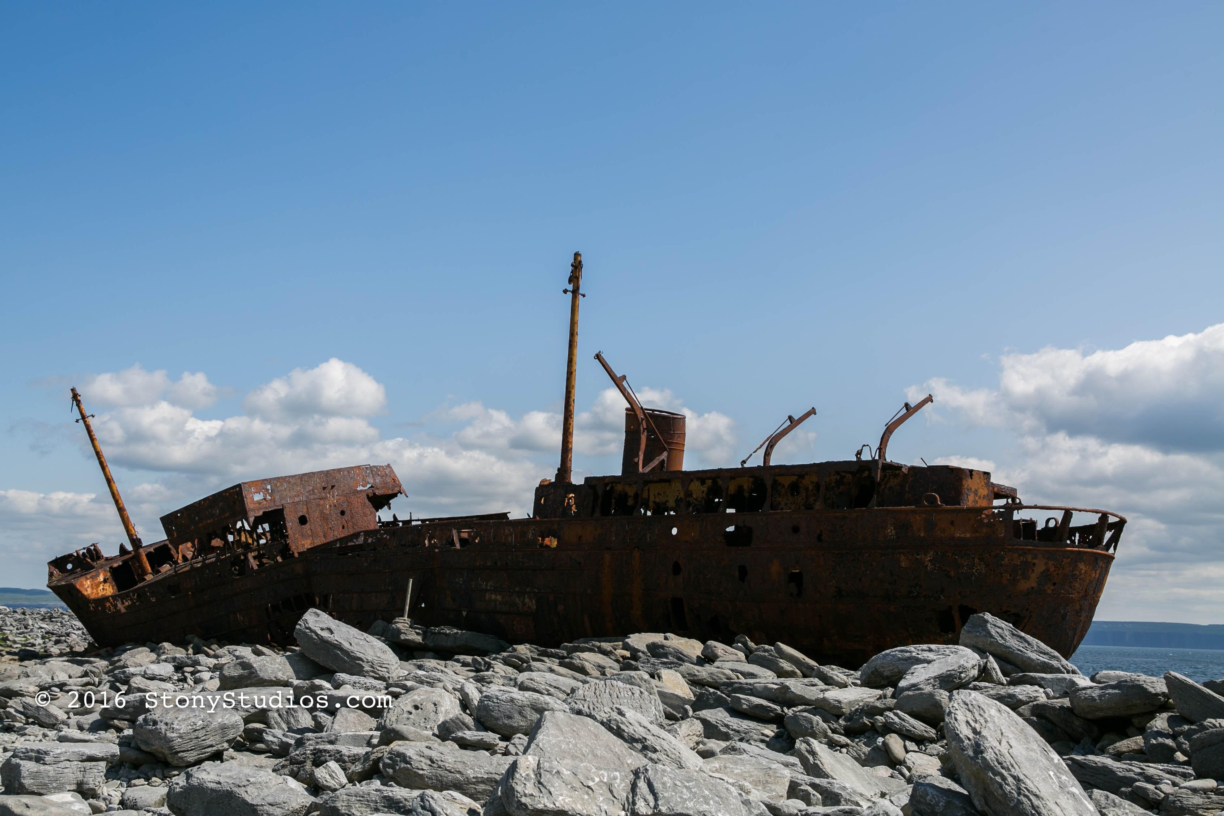 Stony Studios » The Plassey Shipwreck, Inis Oírr