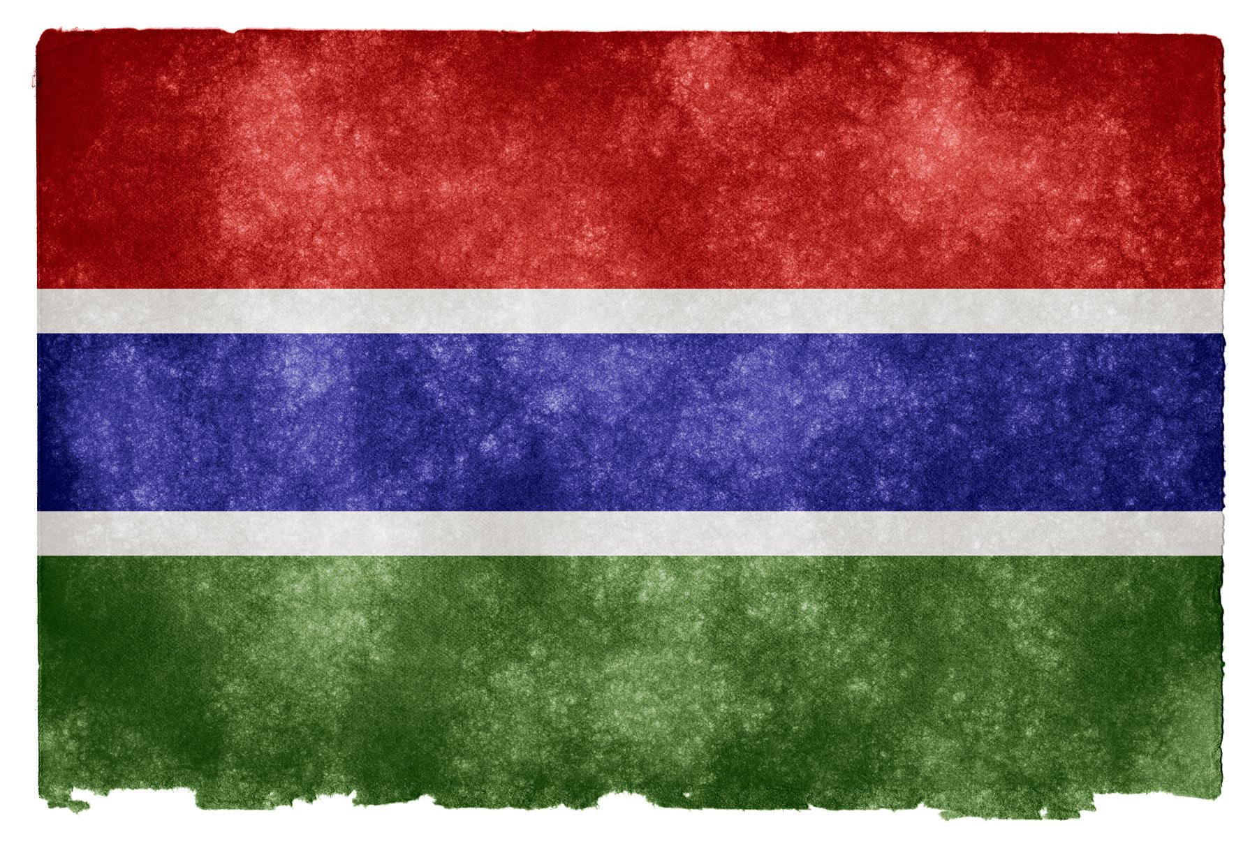 Gambia Grunge Flag, Africa, Somadjinn, Picture, Pride, HQ Photo