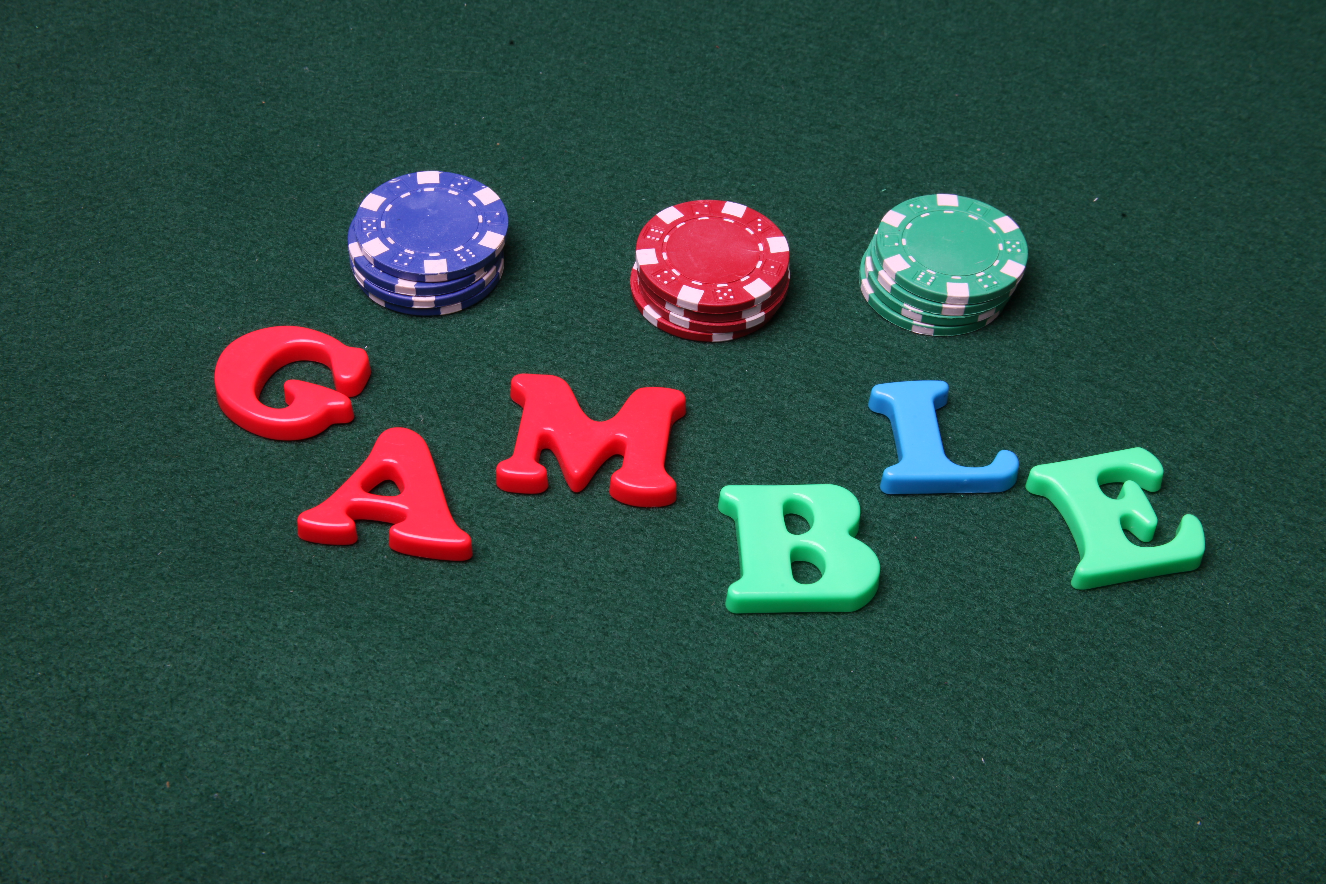 Gamble letters photo
