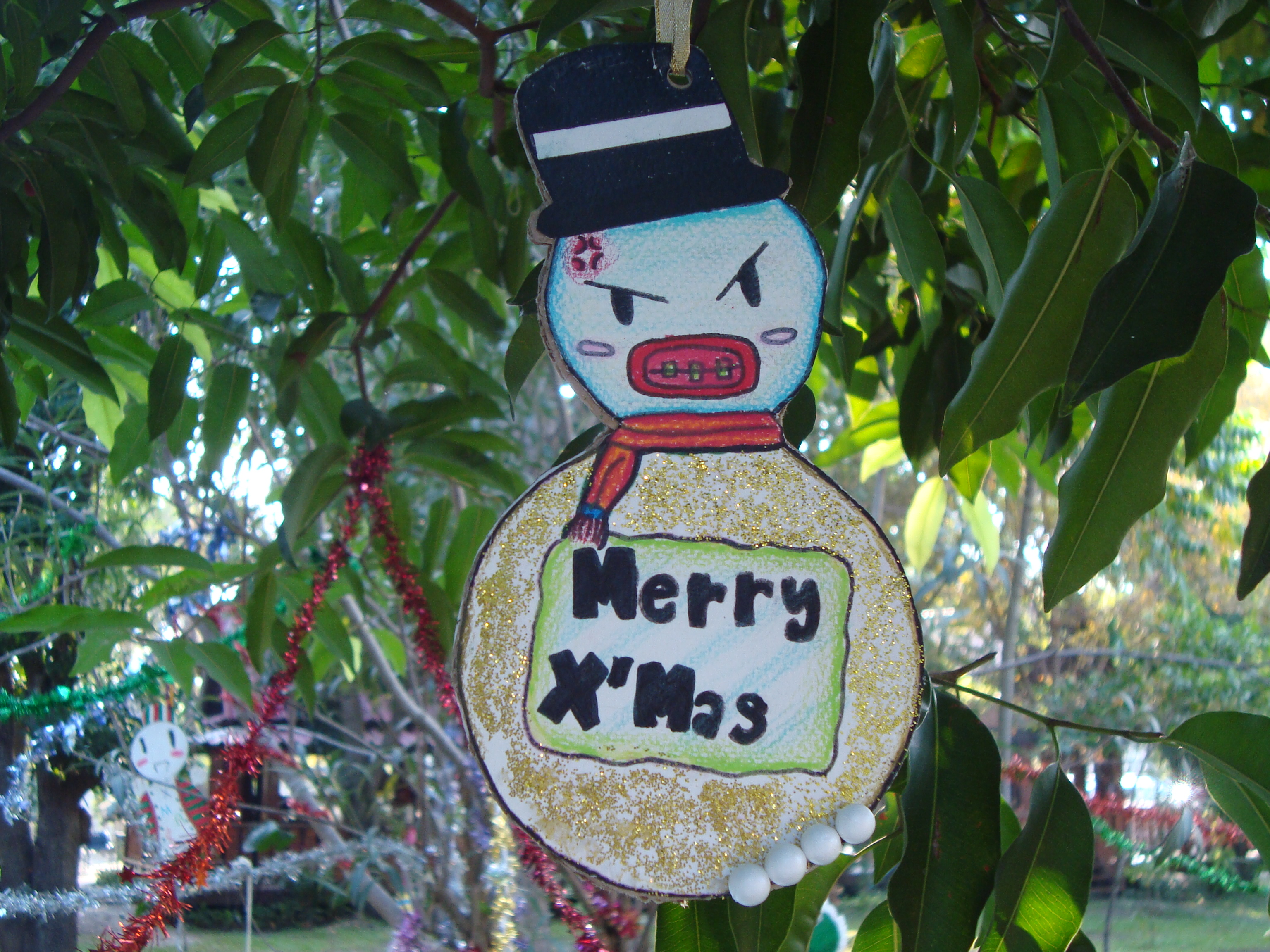Gangster Christmas Decoration, Advent, Ornament, Gangster, Hanging, HQ Photo