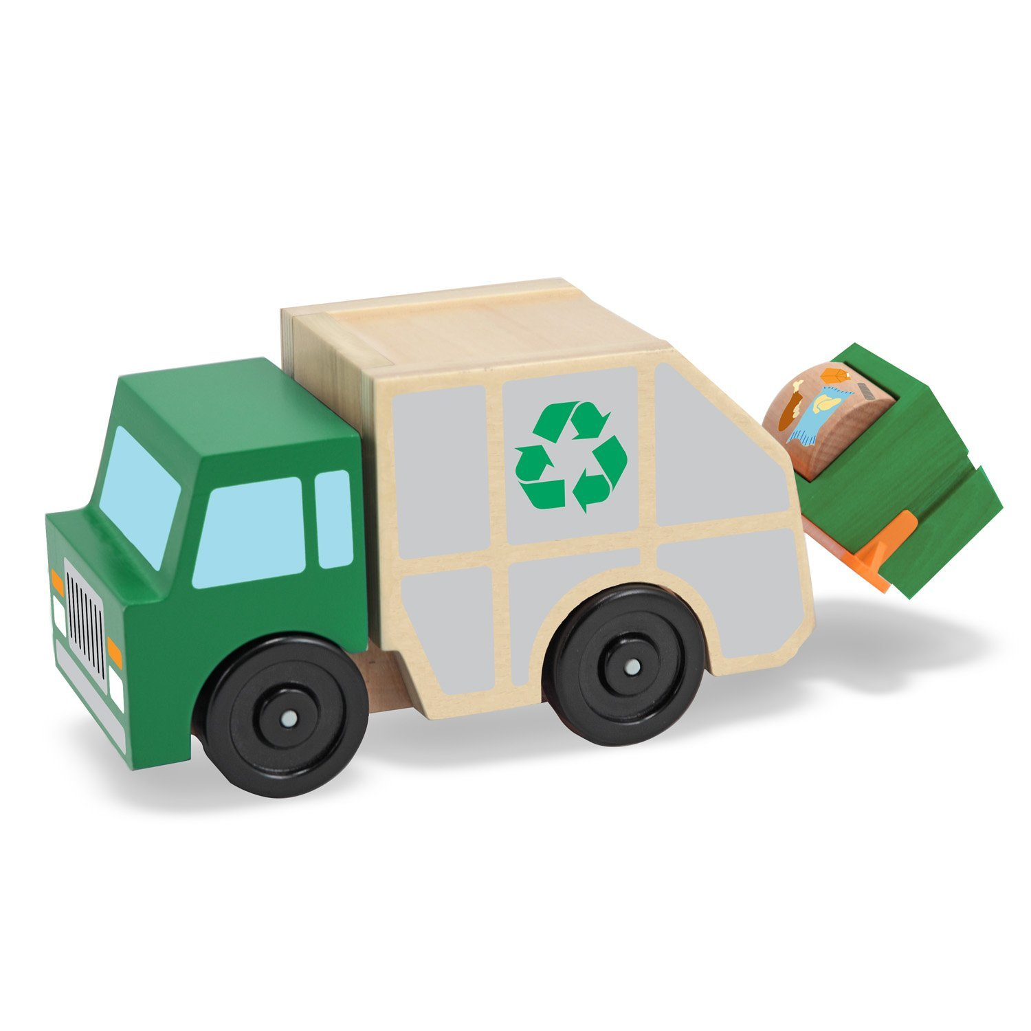 Garbage truck toy photo