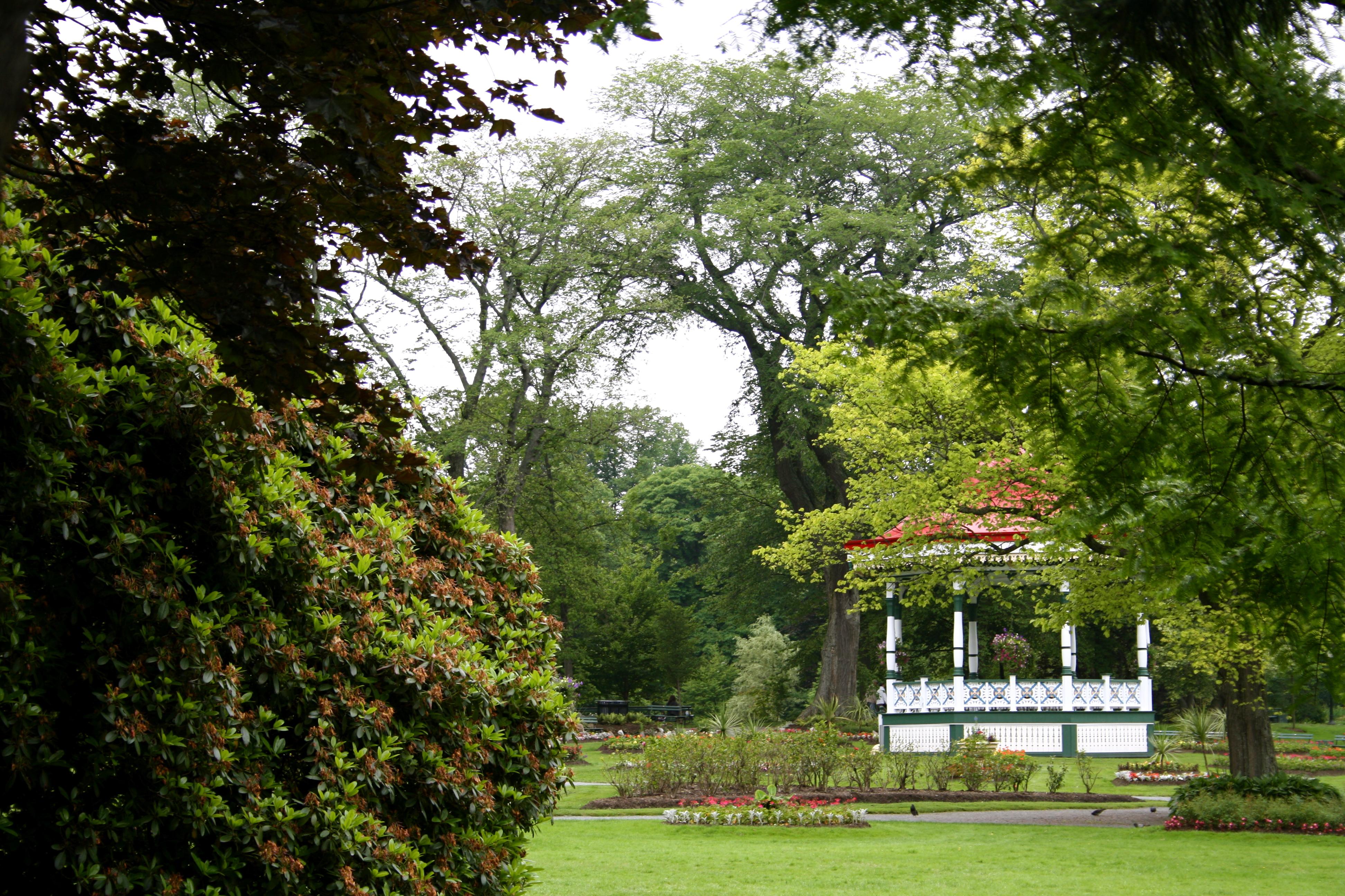 Garden view, Garden, Green, Nature, Park, HQ Photo