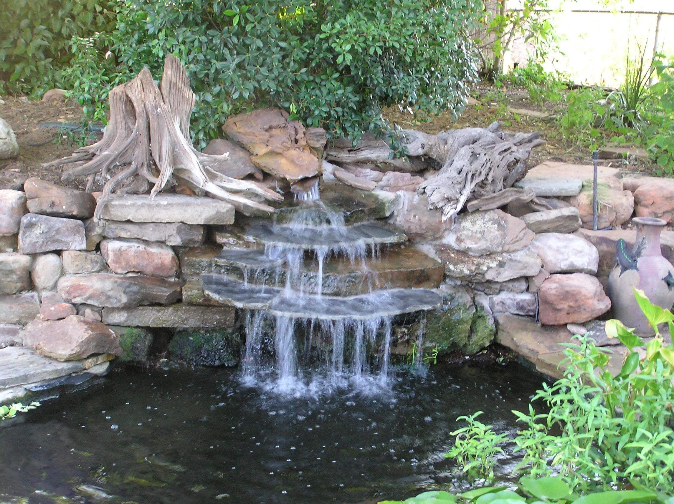 Best Waterfall Ideas for Backyard and Home Garden | Сад | Pinterest ...