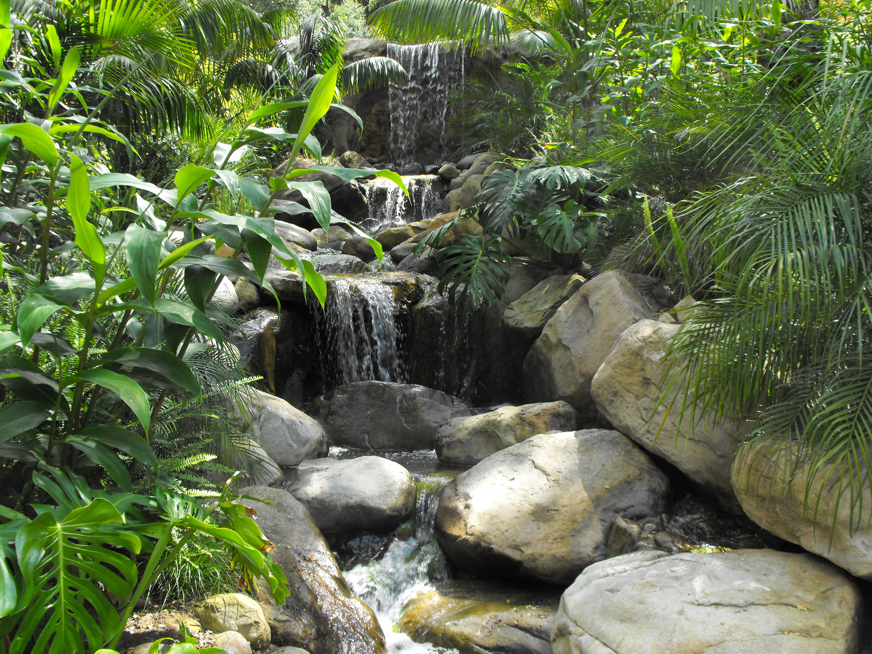 Rock and Water in the Santa Barbara Garden | Garcia Rock And Water ...