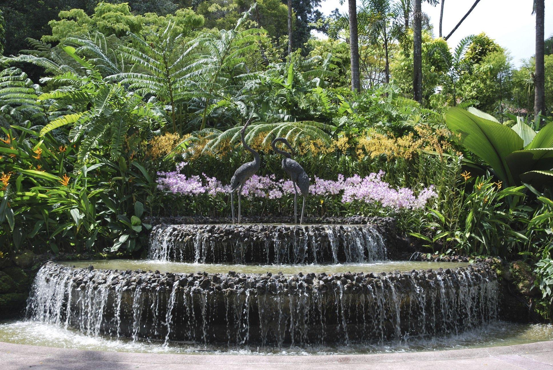 Kepler House Wallpaper: Garden Waterfall - how to make it? | Gardens ...