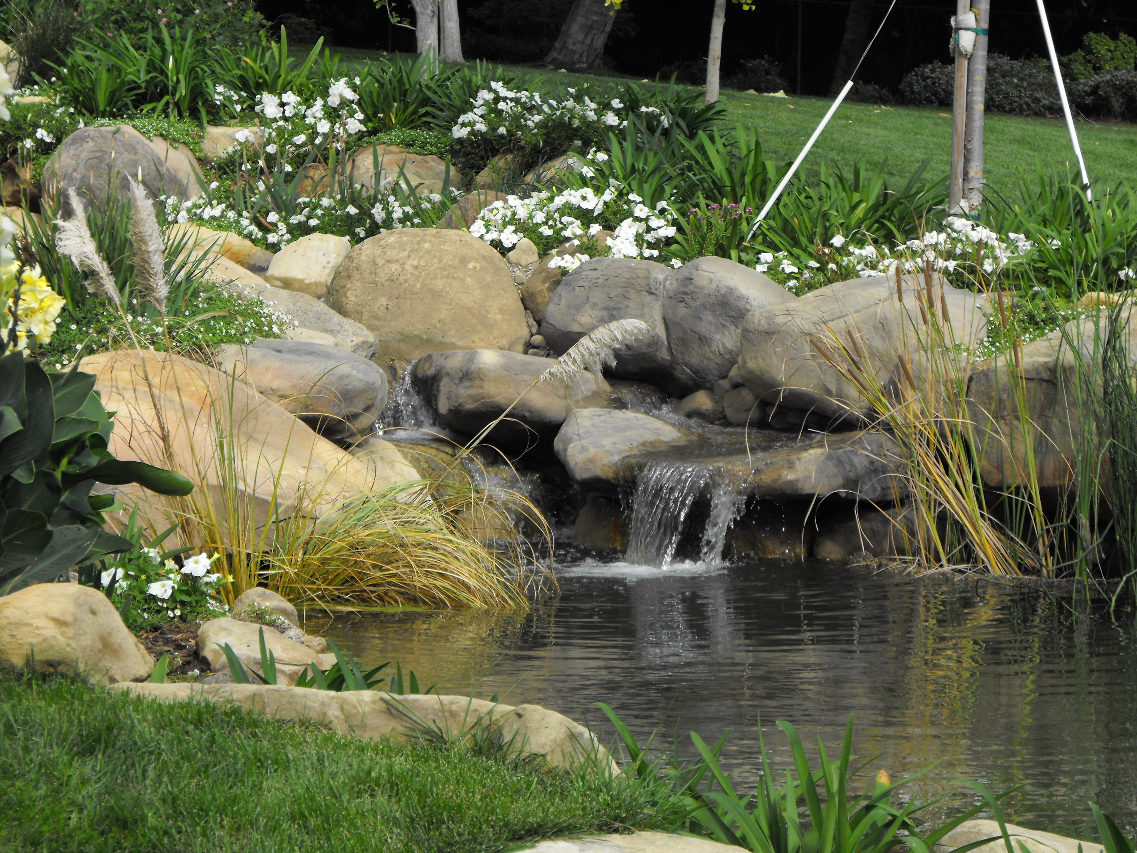 Waterfall Designs Koi Pond Design Pond Construction Ideas Small ...