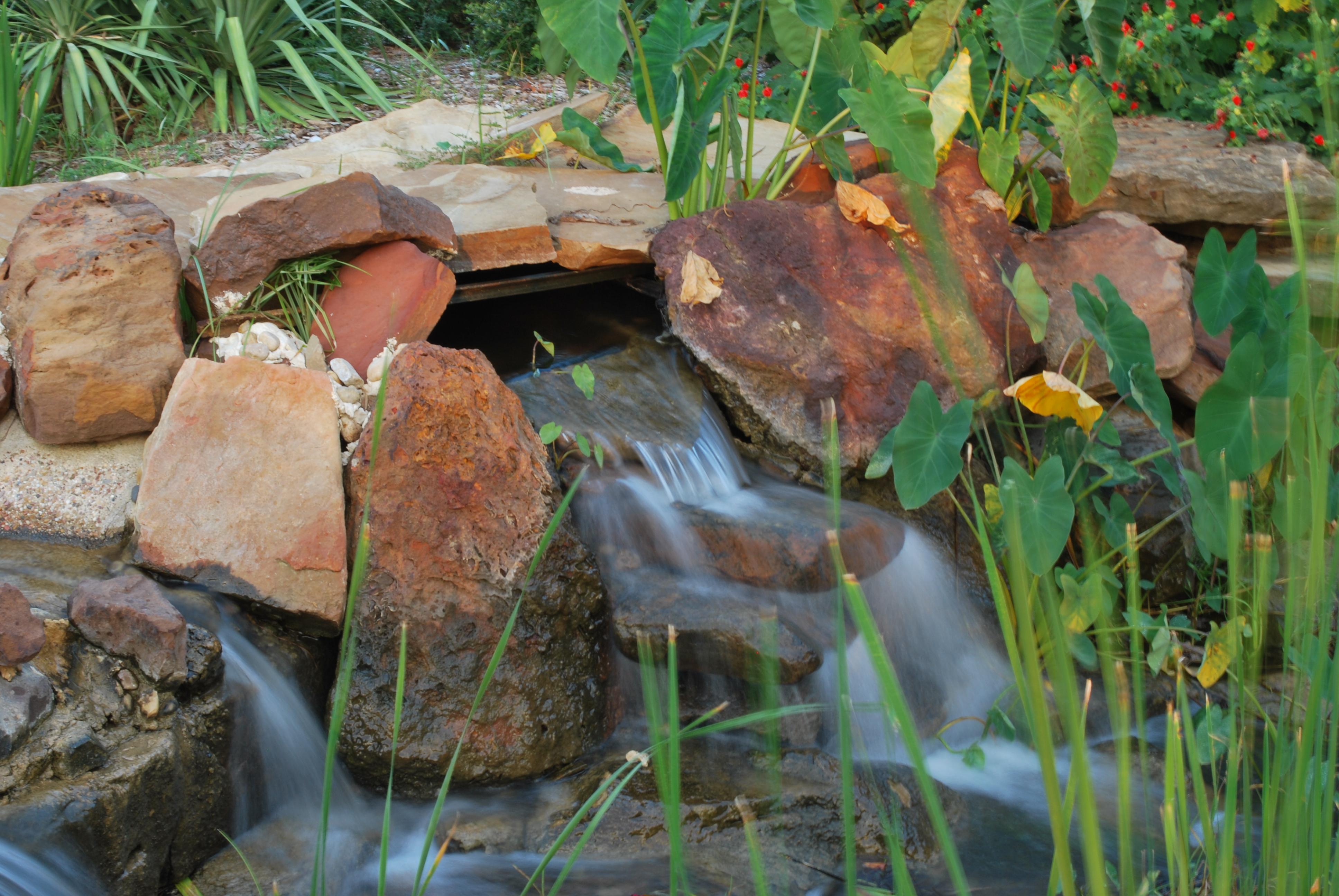 Garden Waterfalls, Garden, Landscape, Nature, Park, HQ Photo