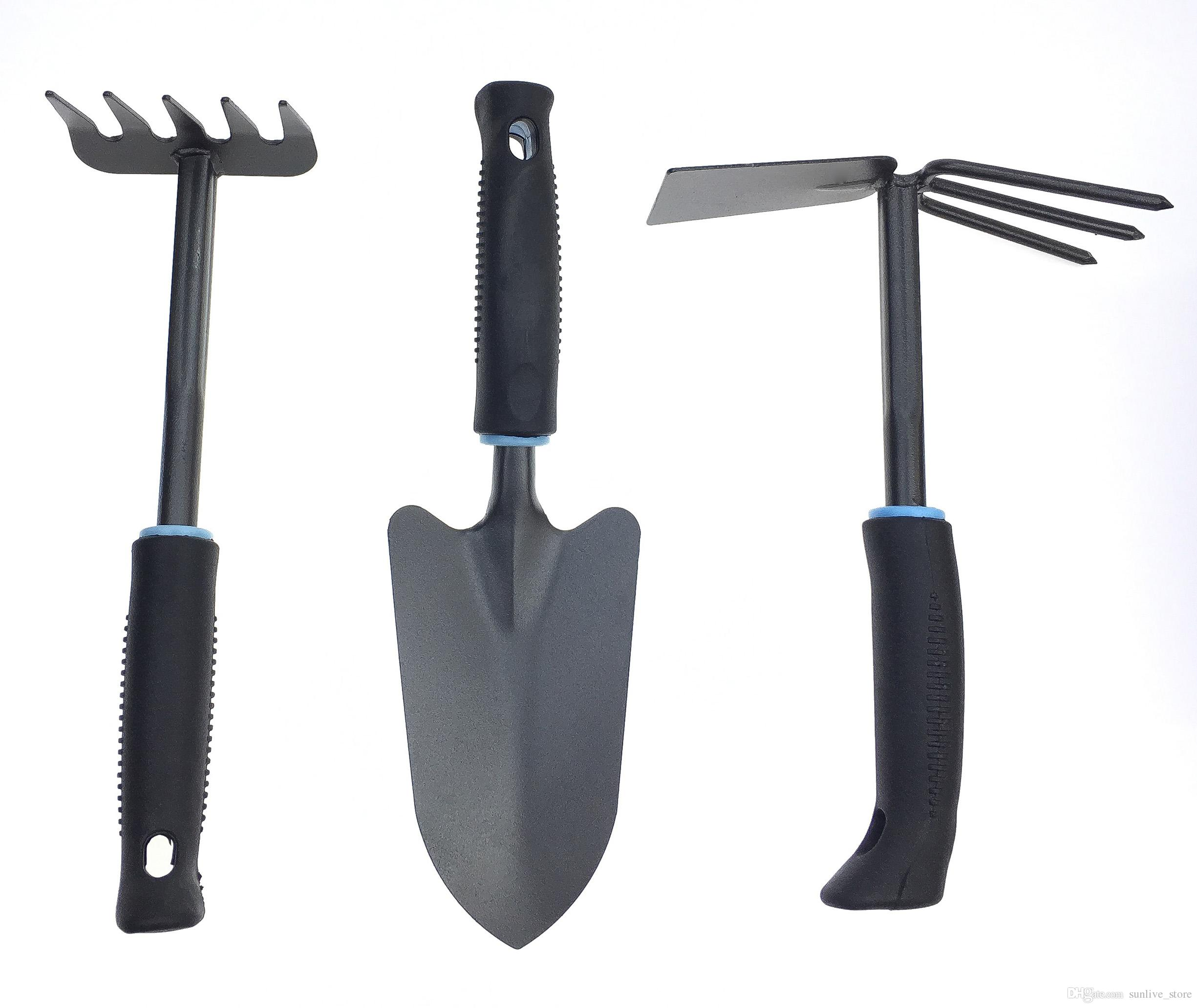 2018 Three Piece Gardening Tools Stainless Steel Hand Tools Set ...