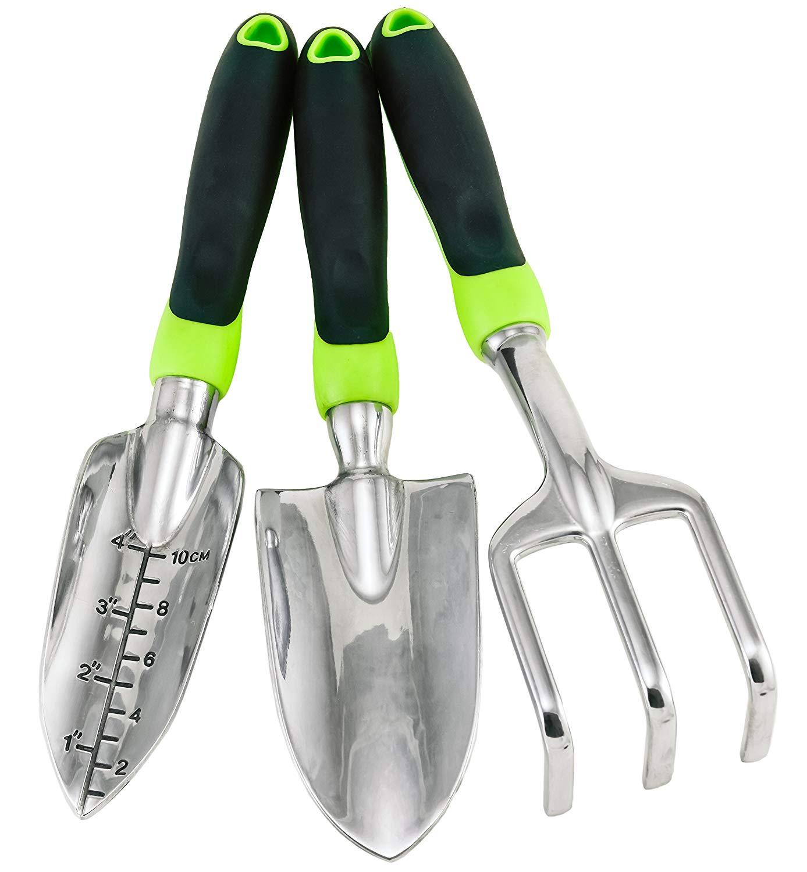 Amazon.com : 3-Piece Gardening Tool Set from Homegrown Garden Tools ...