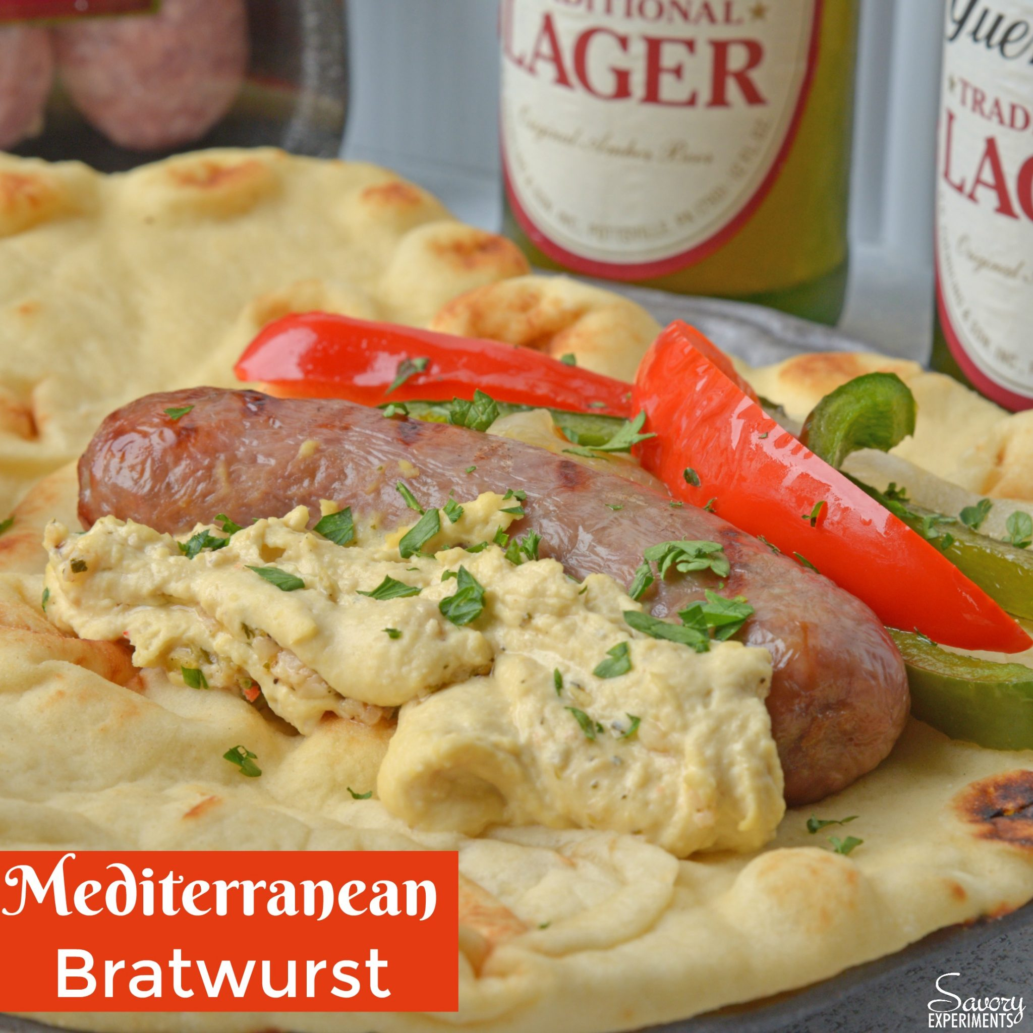 Yuengling Mediterranean Bratwurst - Savory Experiments