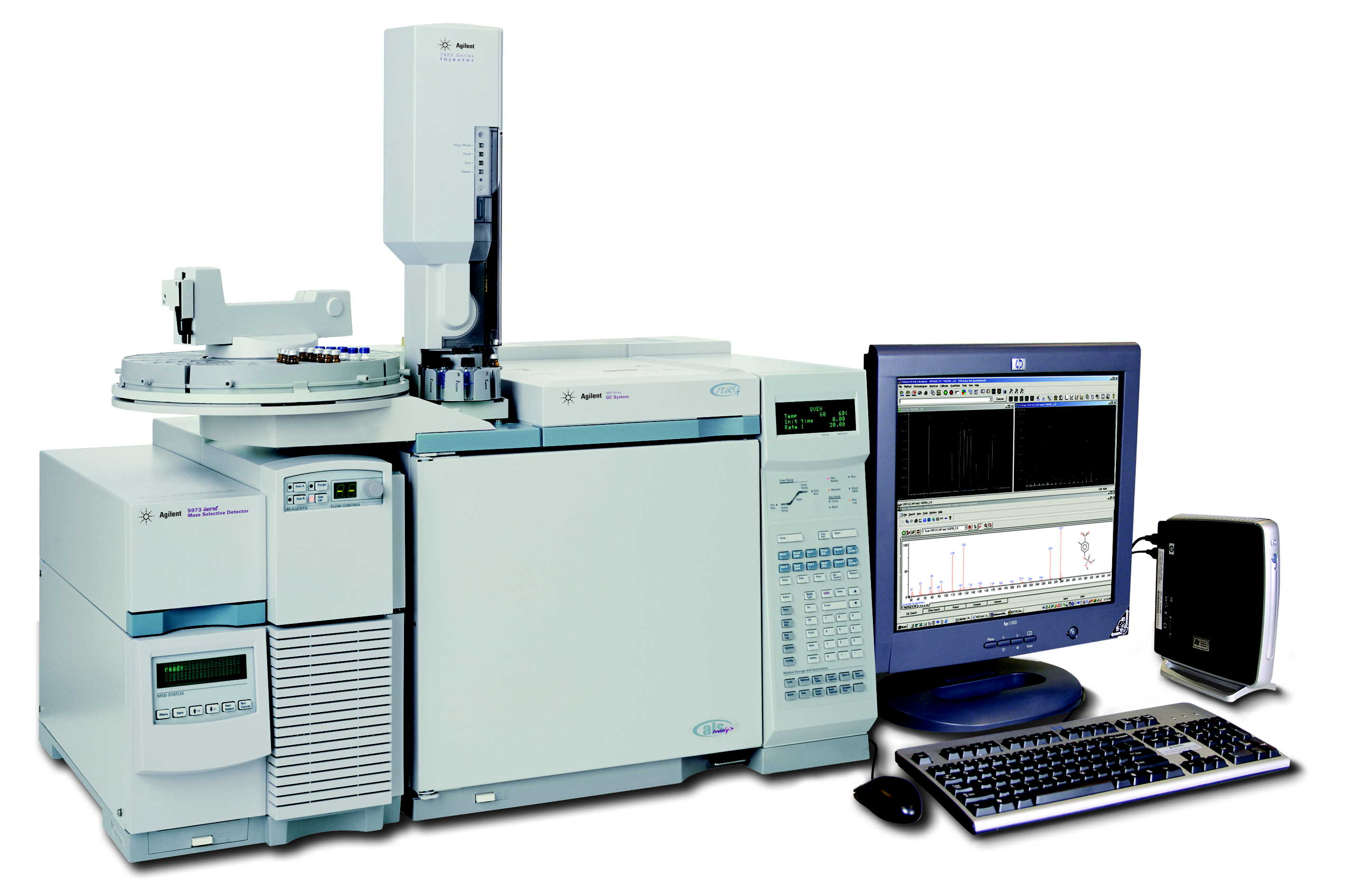 Refurbished Hewlett Packard and Agilent GC MSD Systems
