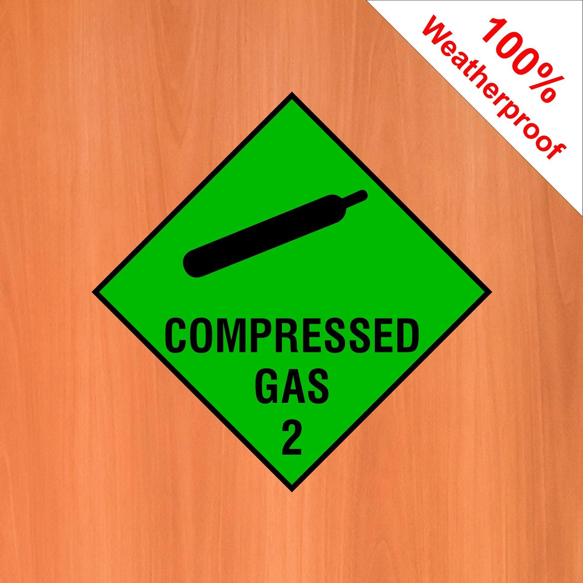 Gas sticker photo