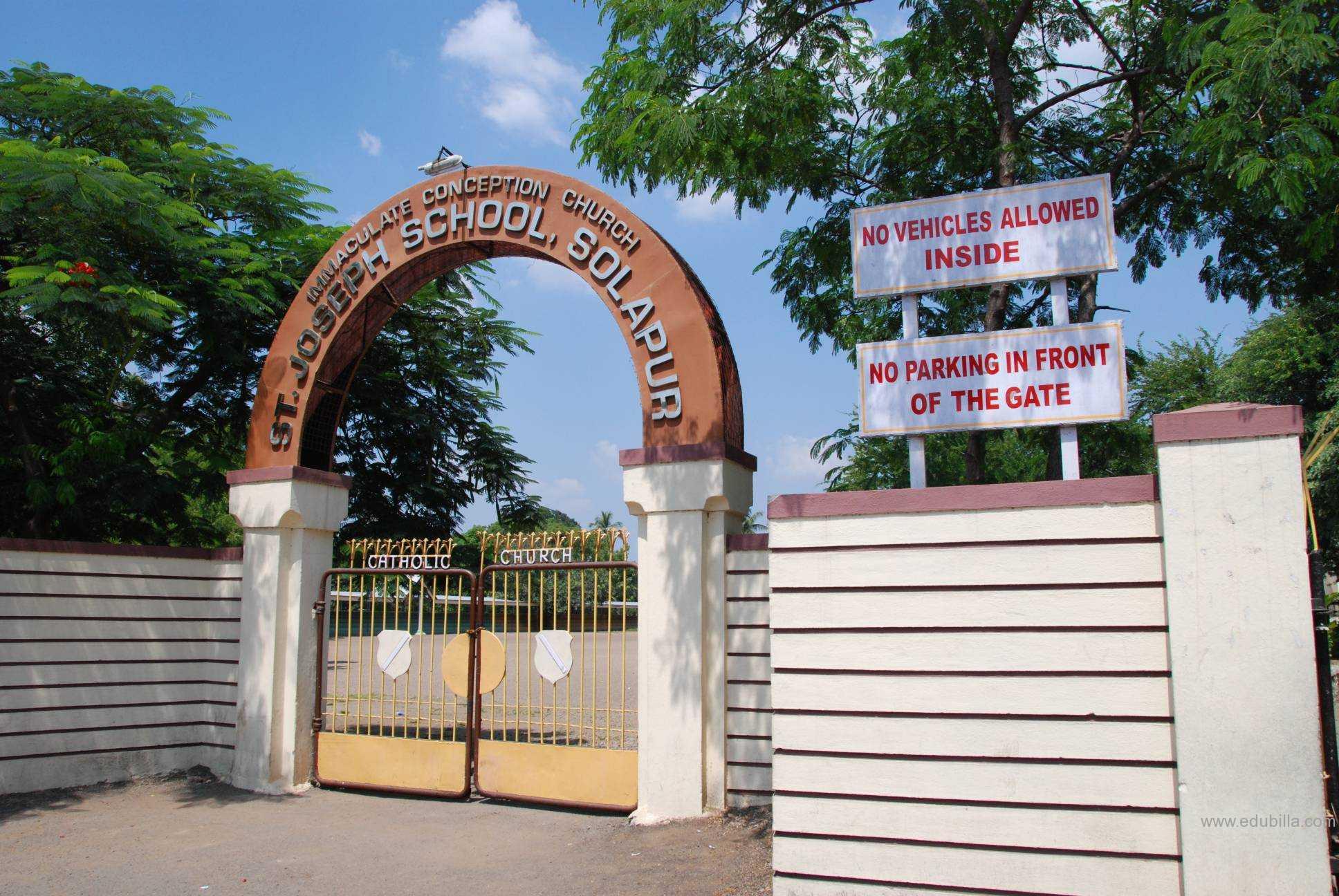 St. Joseph High School, Solapur | Edubilla.com