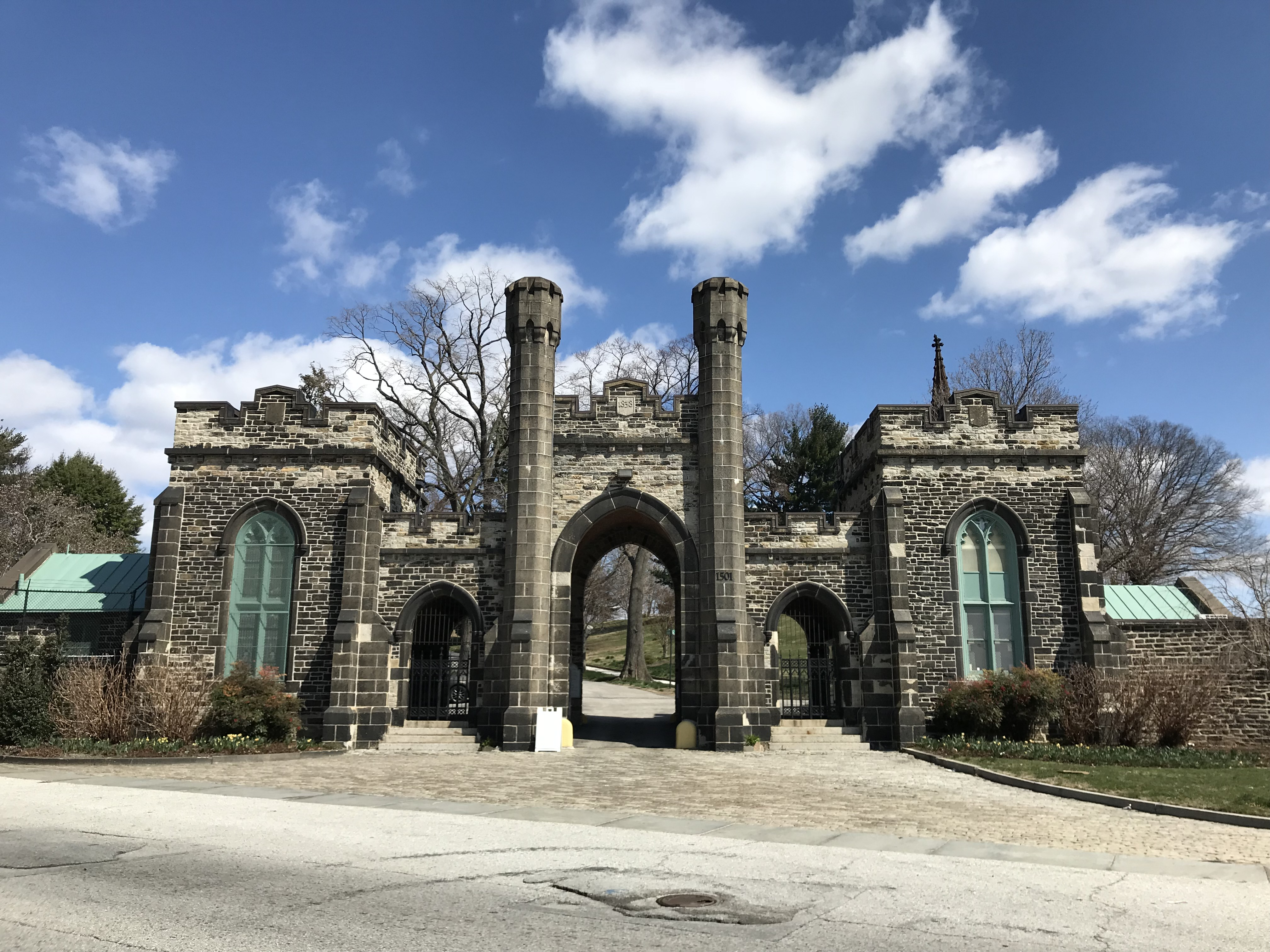 Gatehouse, greenmount cemetery, 1501 greenmount avenue, baltimore, md 21202 photo