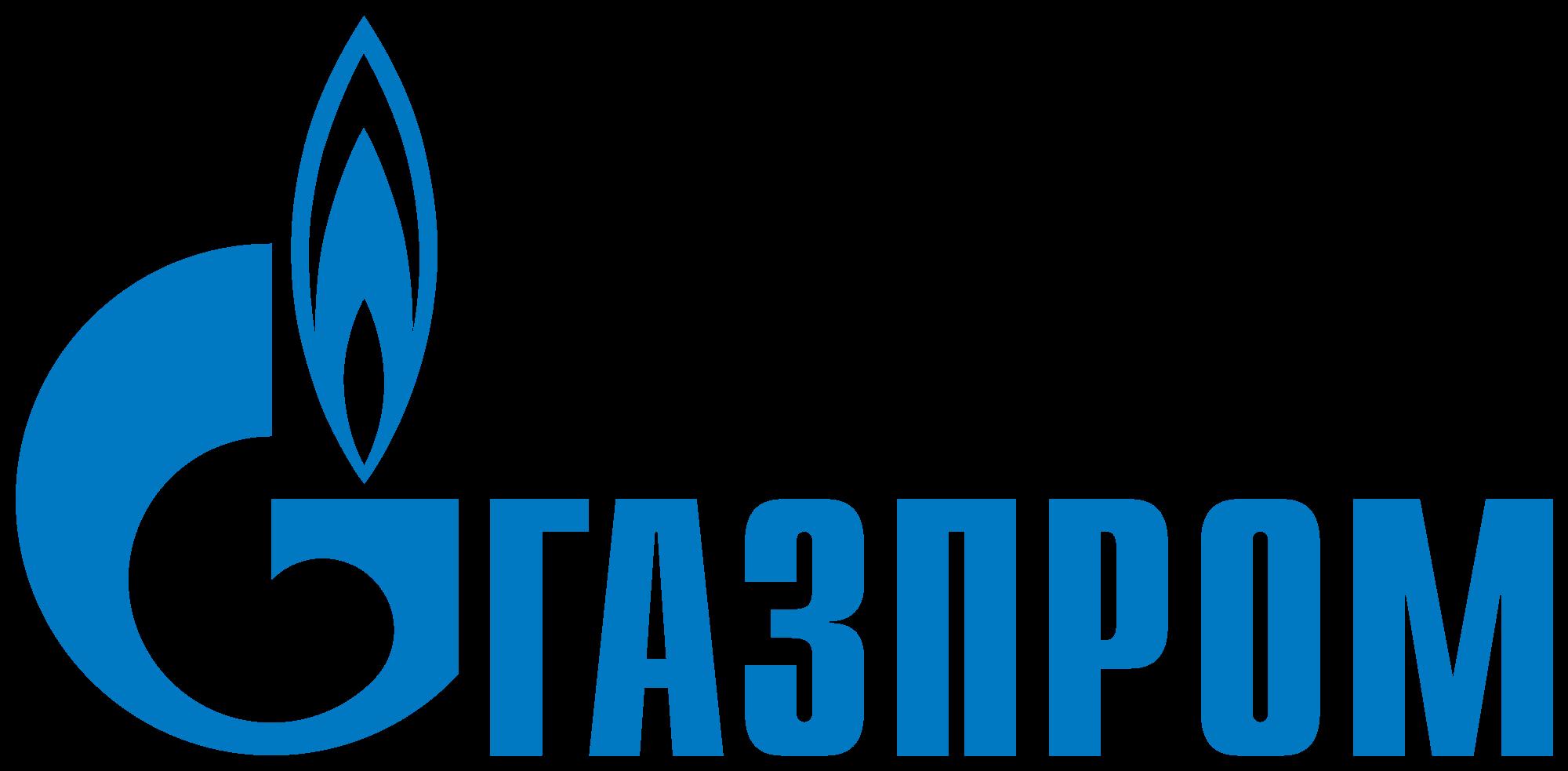 Gazprom logo photo