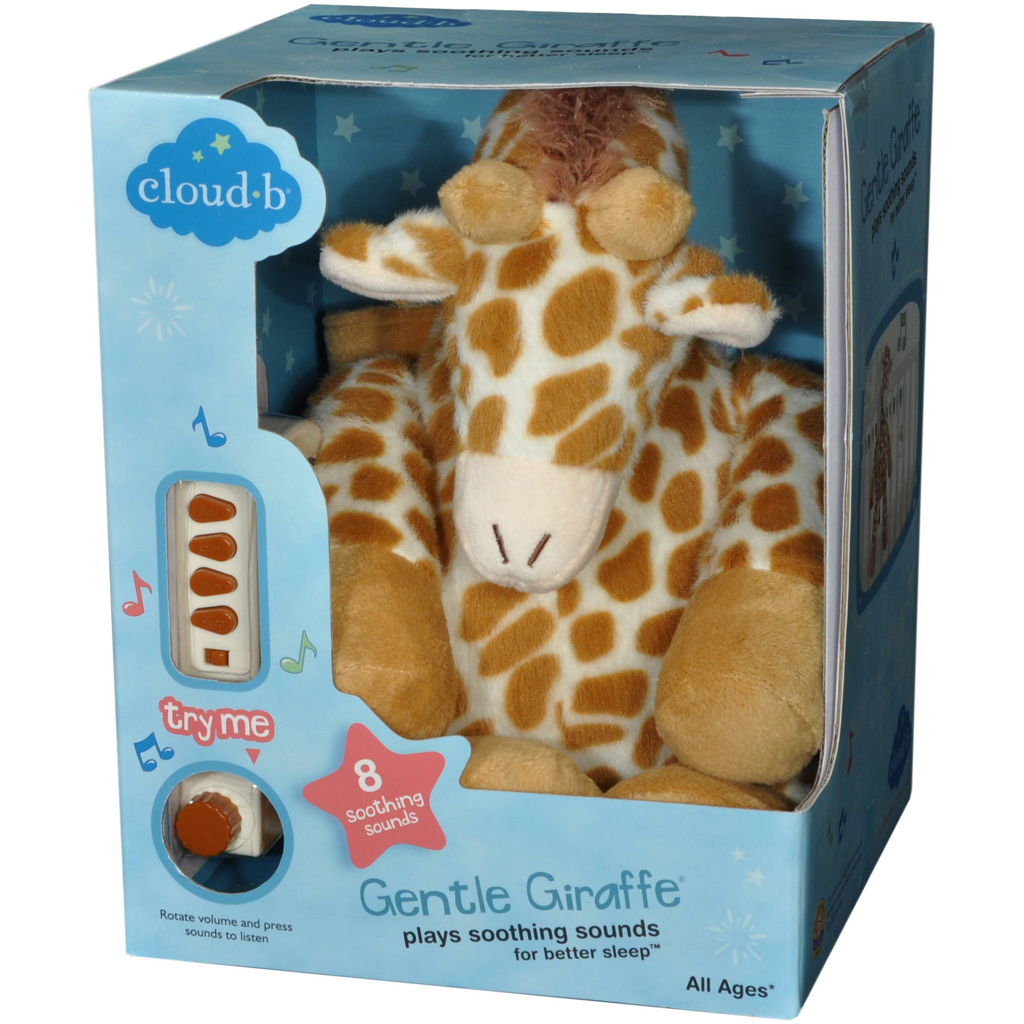 Cloud B Gentle Giraffe Multi-Colored - Walmart.com