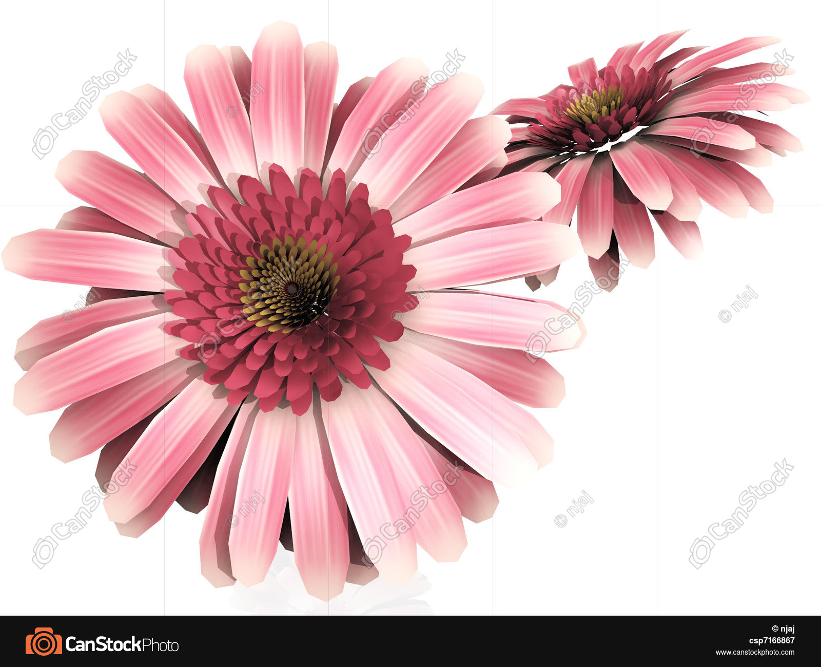 Gerbera daisy stock illustrations - Search EPS Clipart, Drawings ...