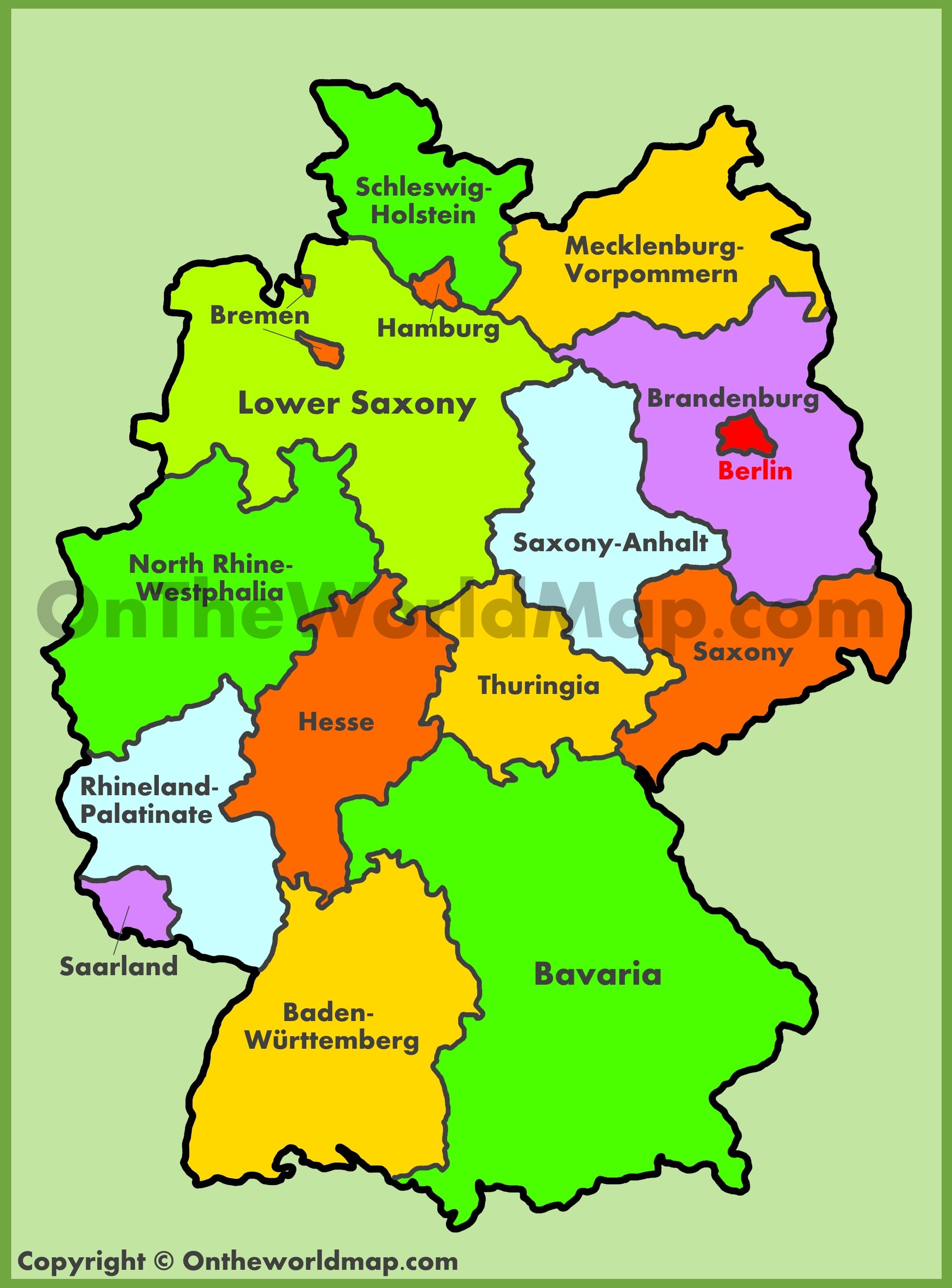 Germany Maps | Maps of Germany