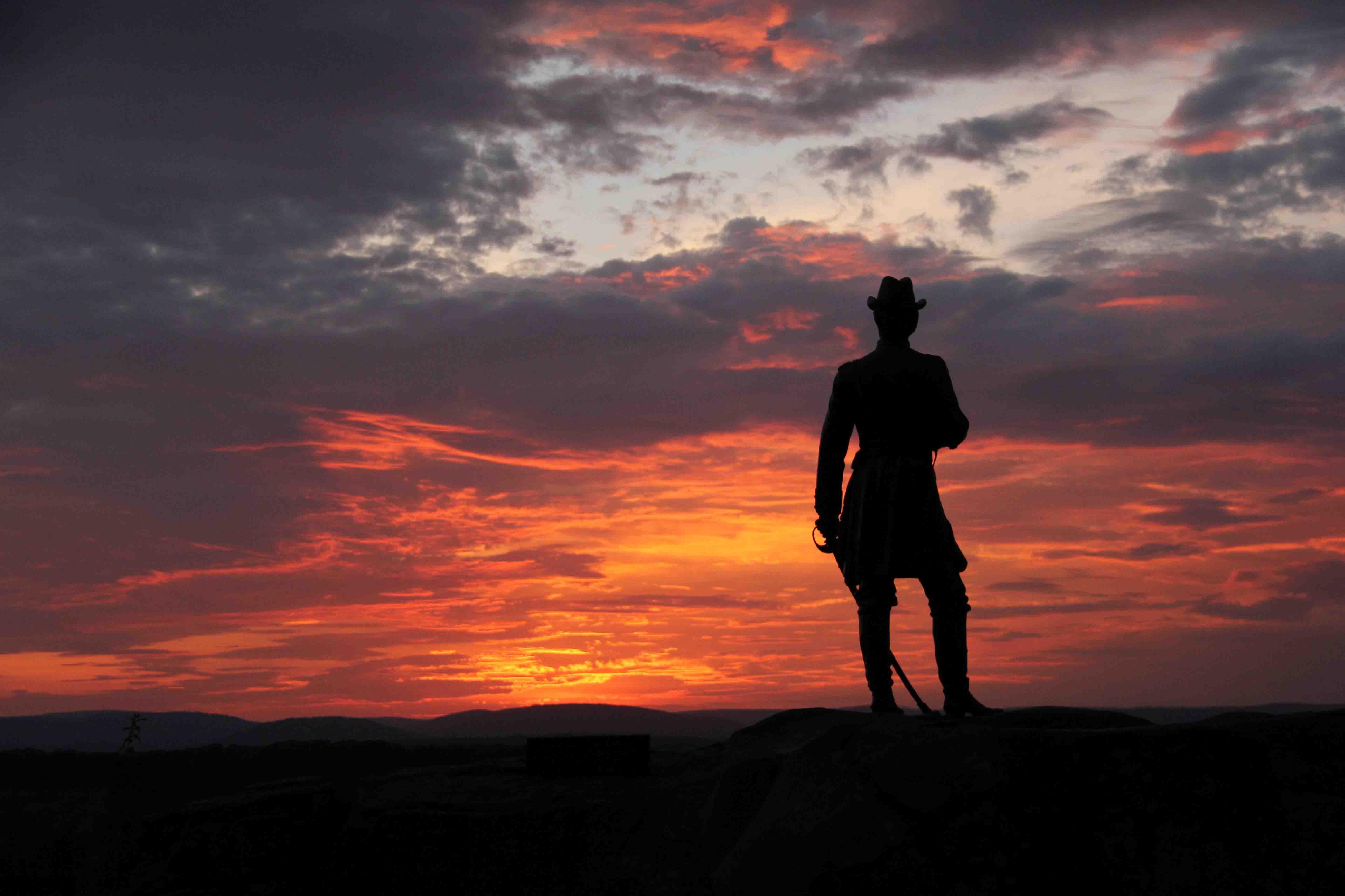Sunset Double Decker Tours of Gettysburg Battlefield