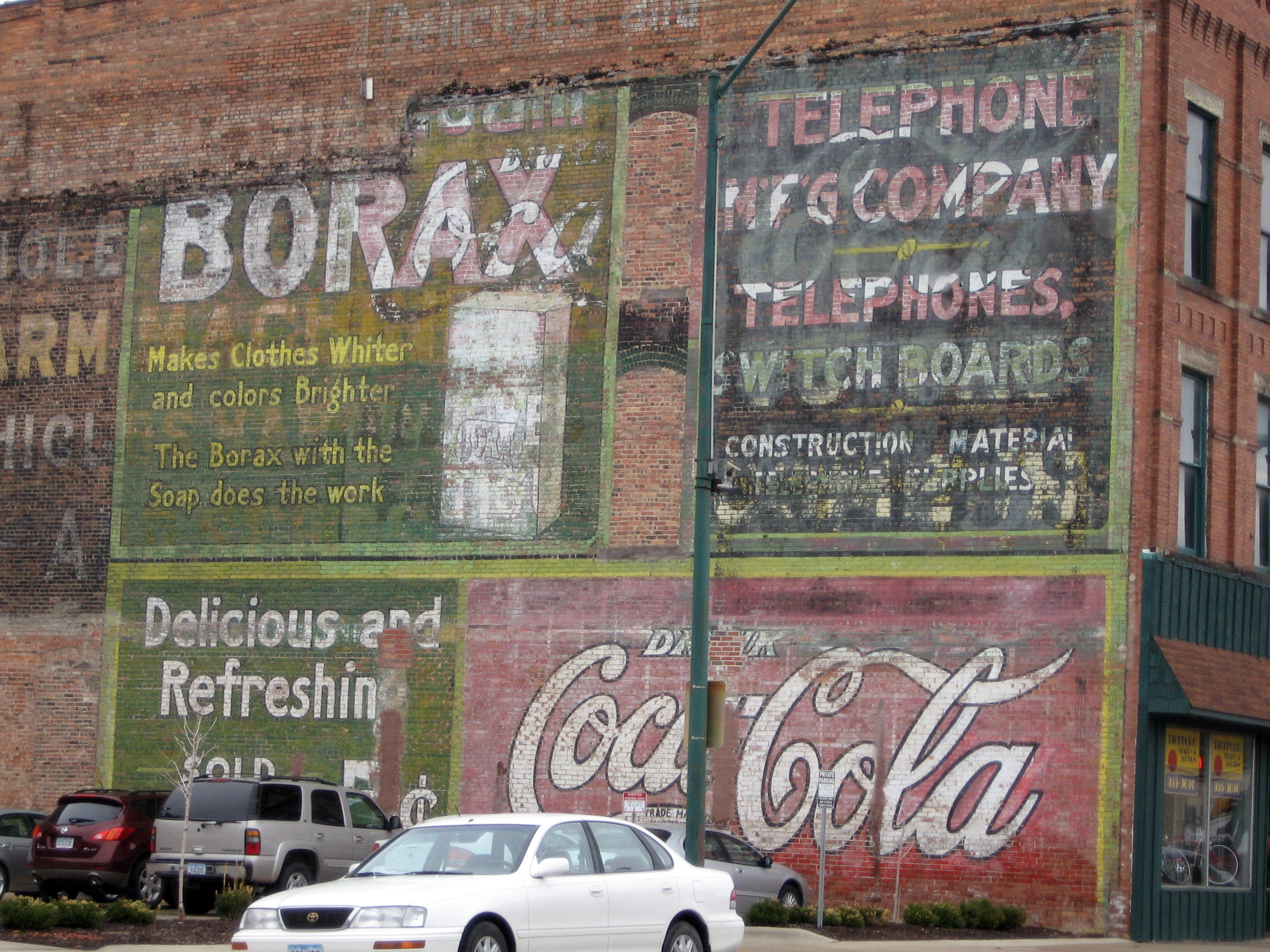 Ghost sign photo