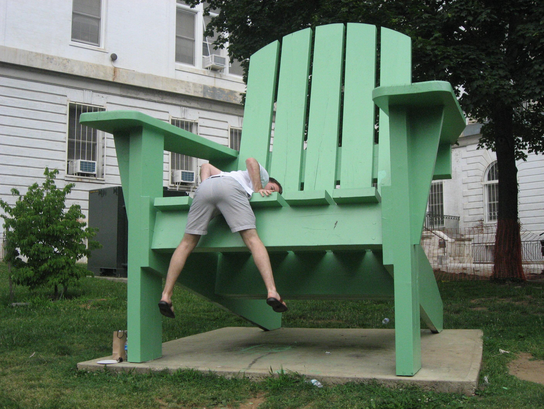 Giant Adirondack Chair | City Sifting