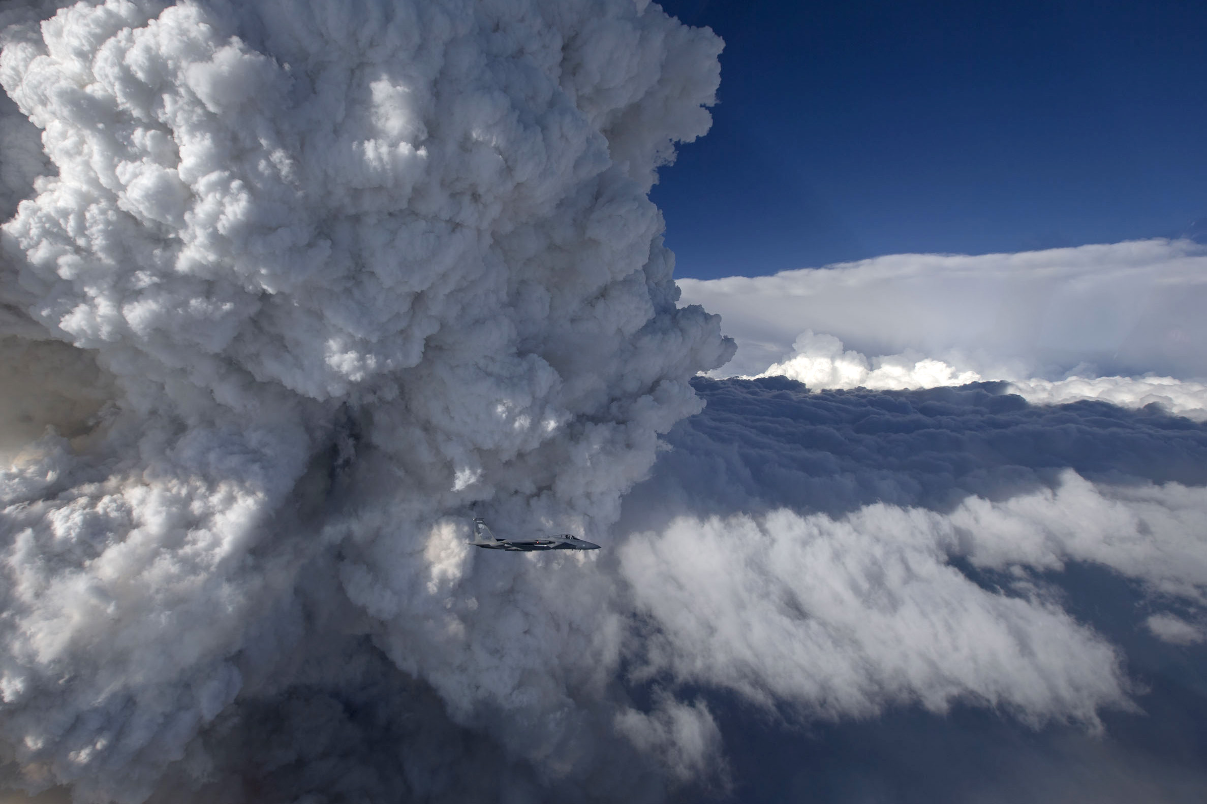 Giant Fire Clouds Over California - ImaGeo