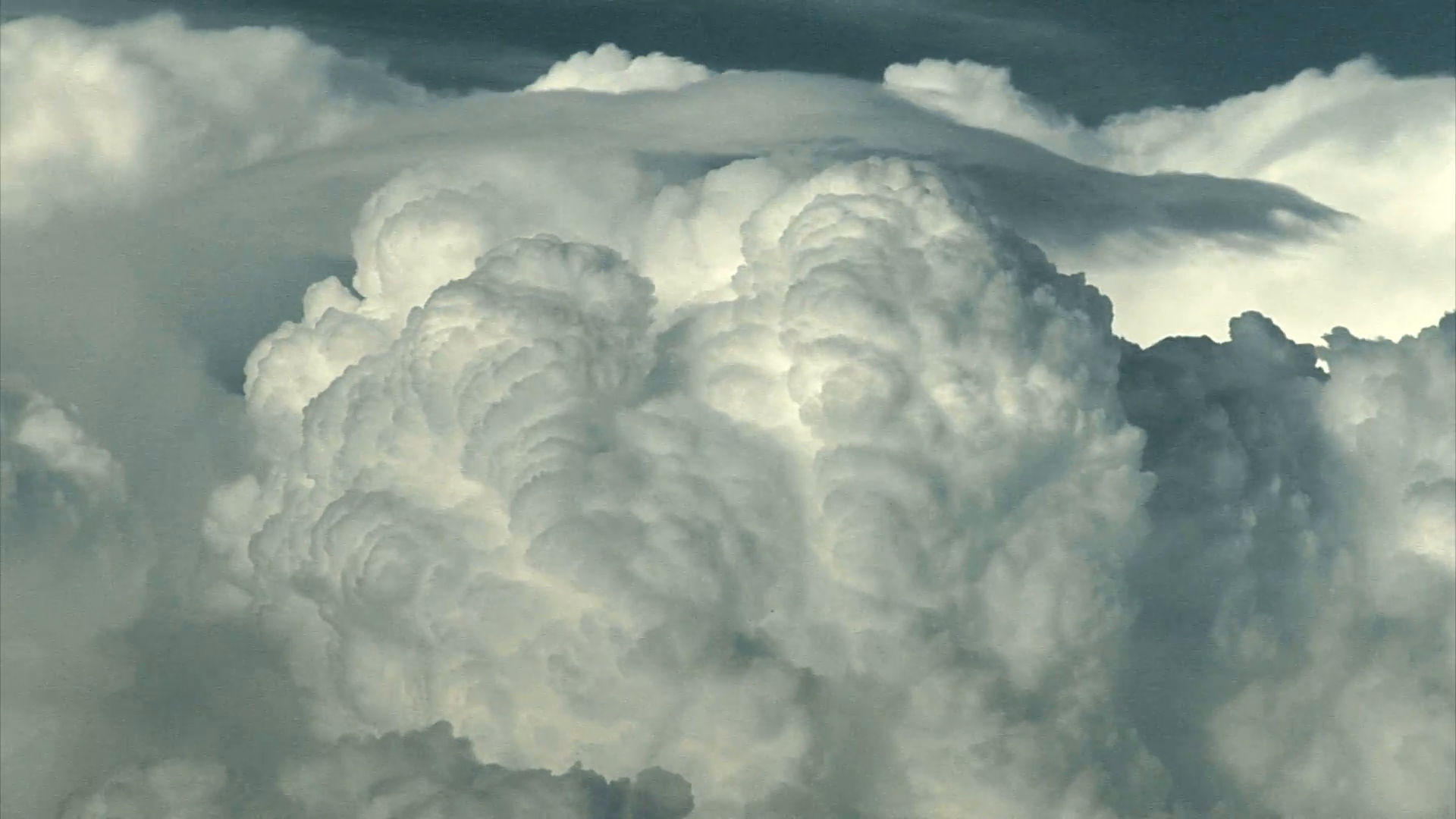 Giant Clouds Billow Into The Sky Stock Video Footage - Videoblocks
