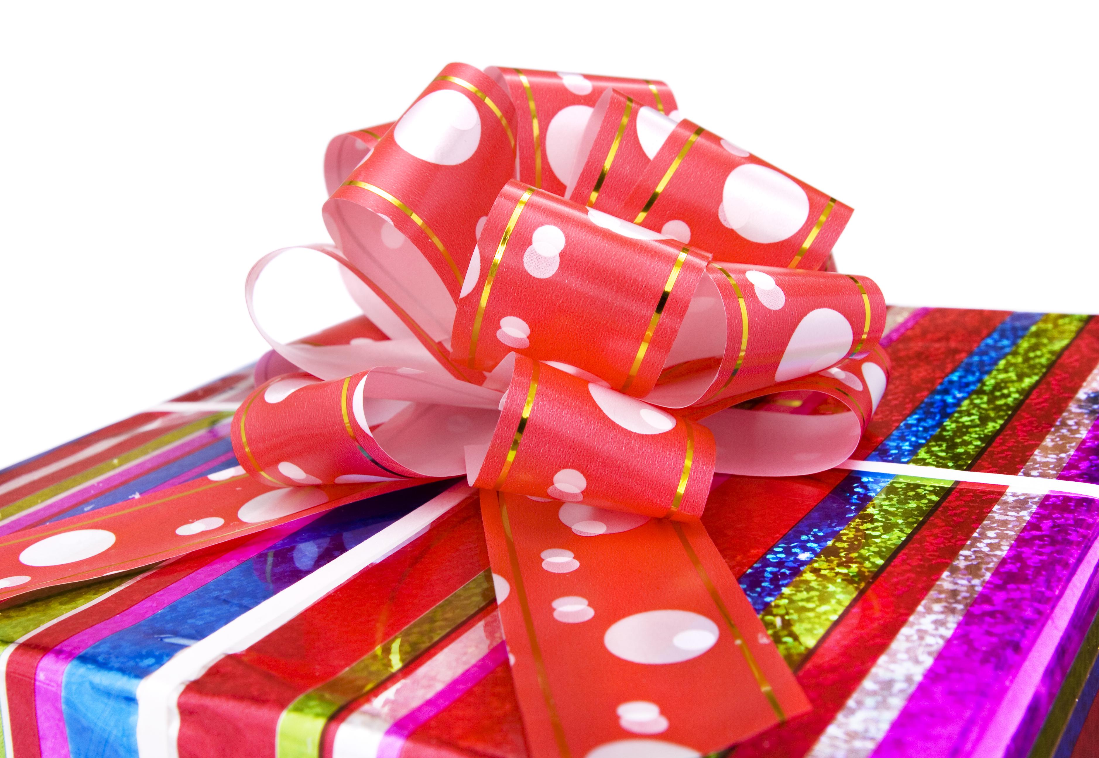 gift, Bow, Box, Christmas, Con2011, HQ Photo