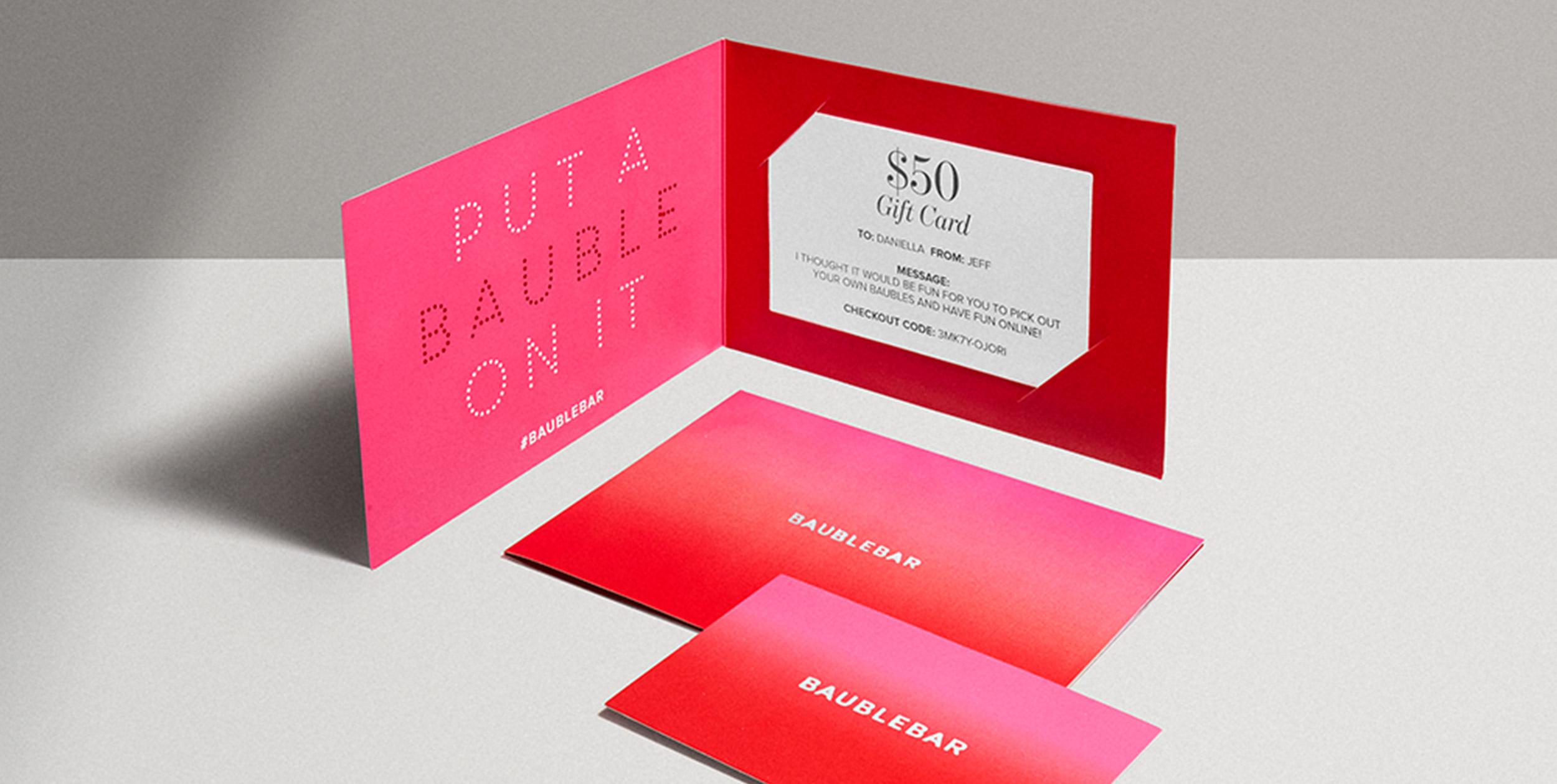 Gift Cards | BaubleBar