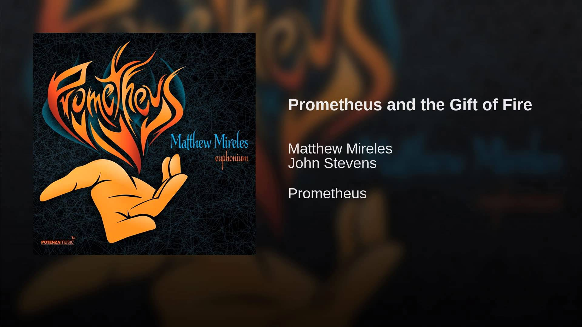 Prometheus and the Gift of Fire - YouTube