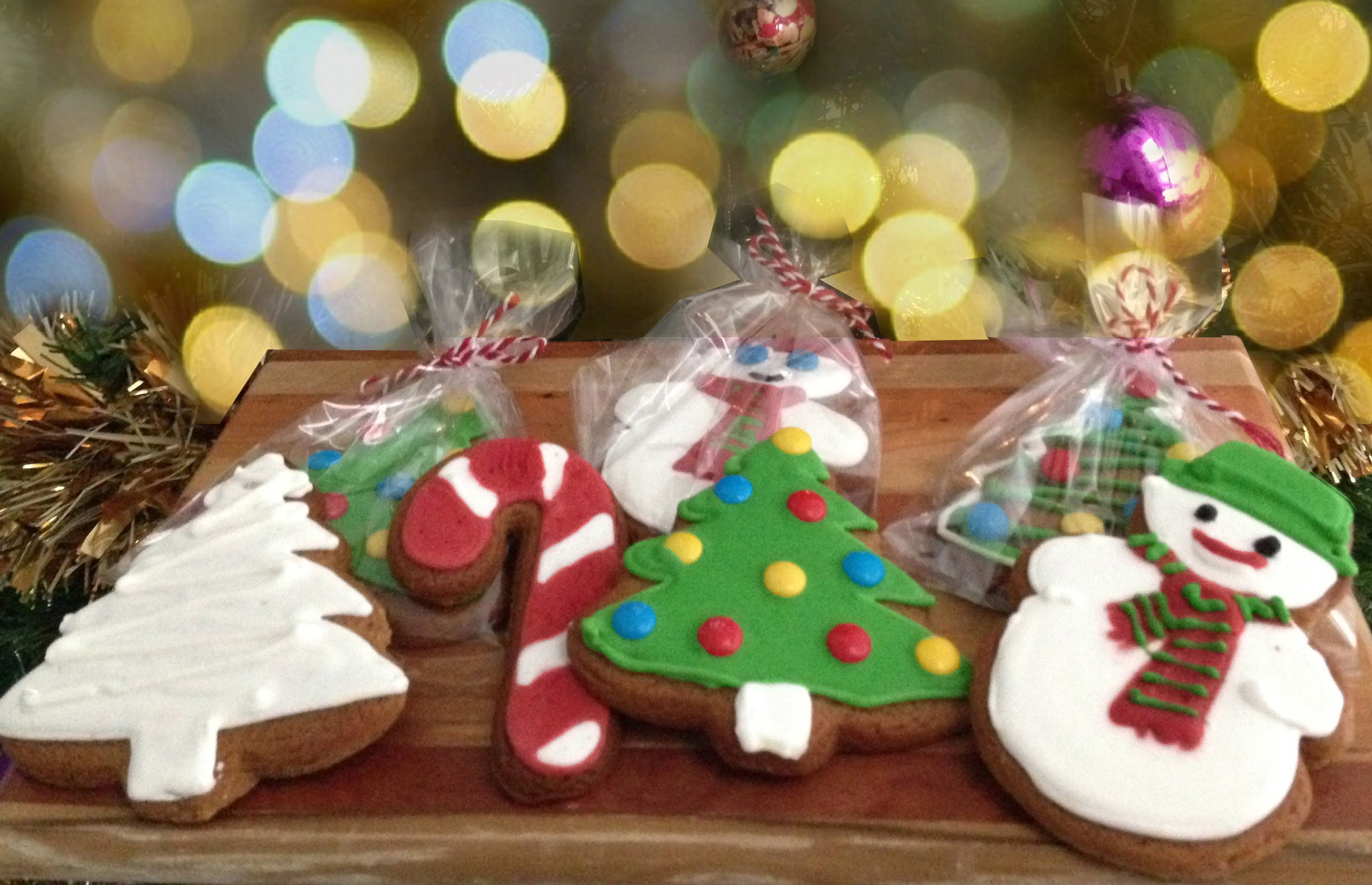 Christmas Cookies Gingerbread Recipe HOW TO COOK THAT Ann Reardon ...