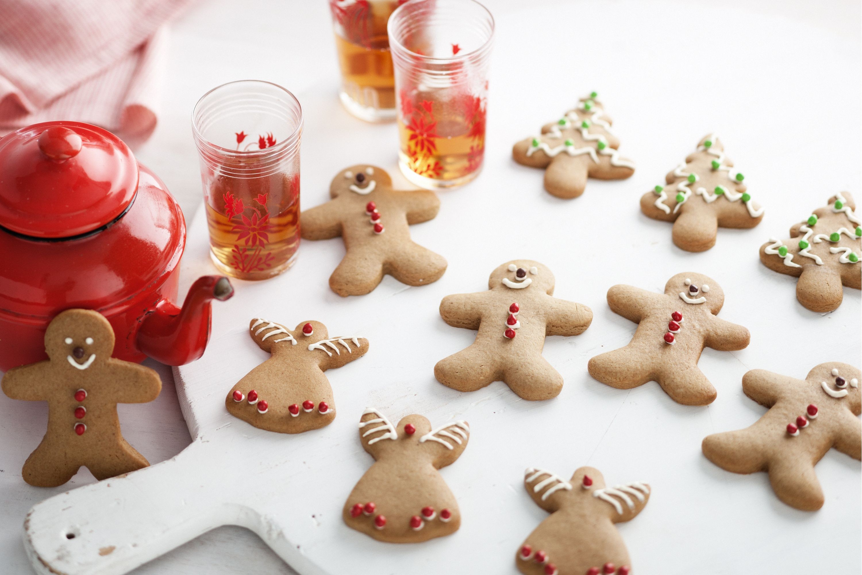 Traditional Christmas gingerbread
