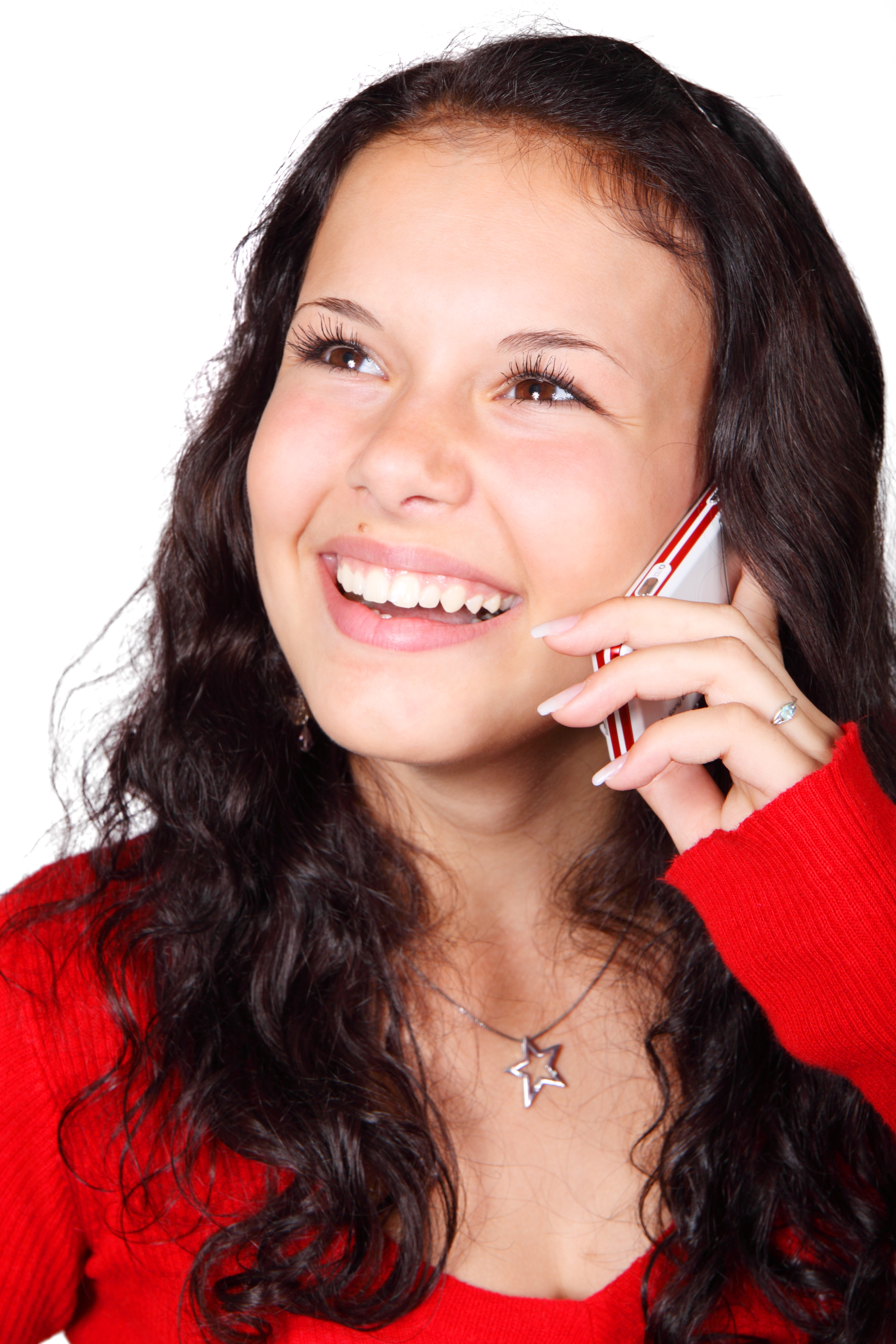 Girl Calling, Activity, Call, Cell, Girl, HQ Photo