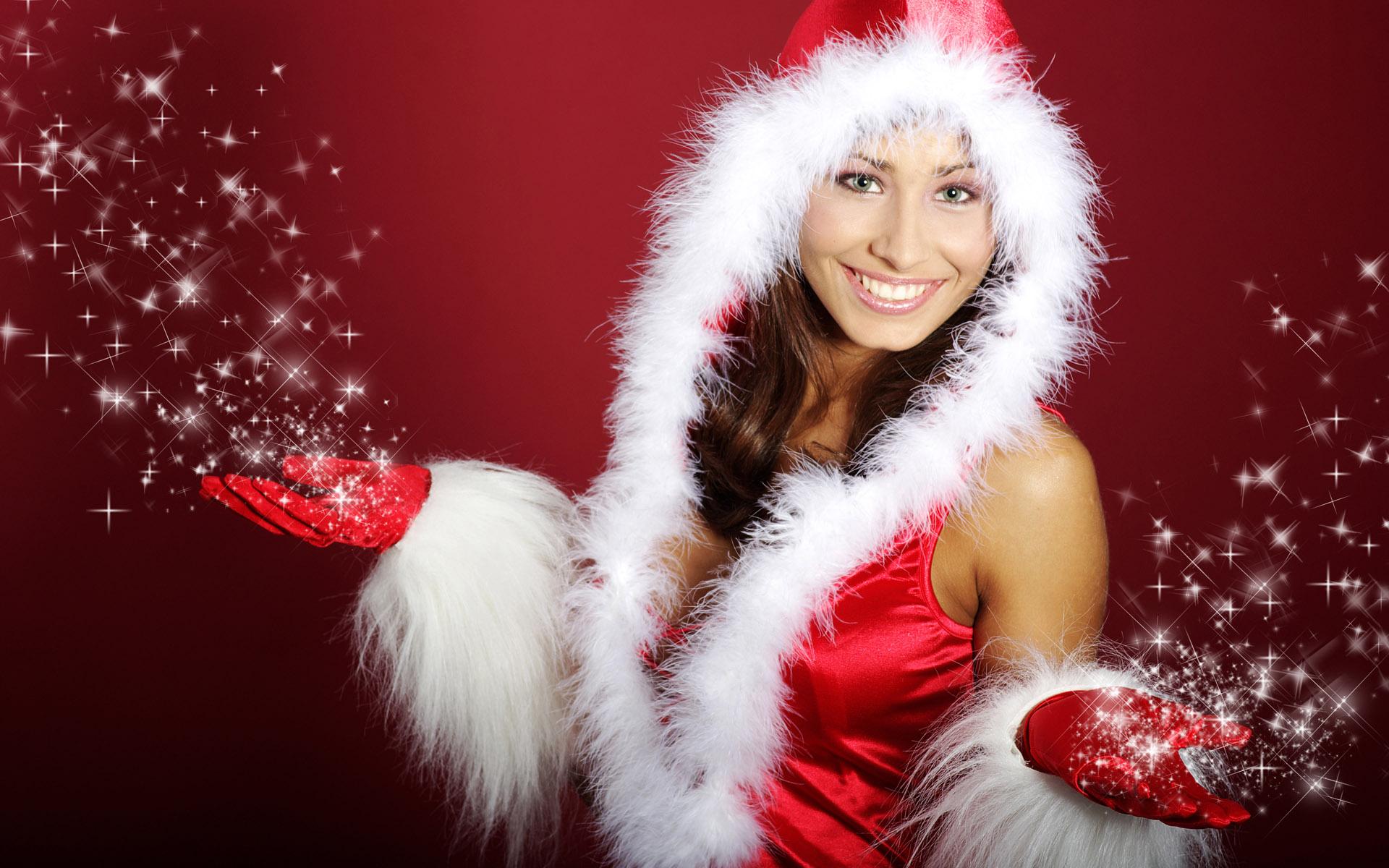 High-definition Christmas girl 26746 - Christmas - Festival