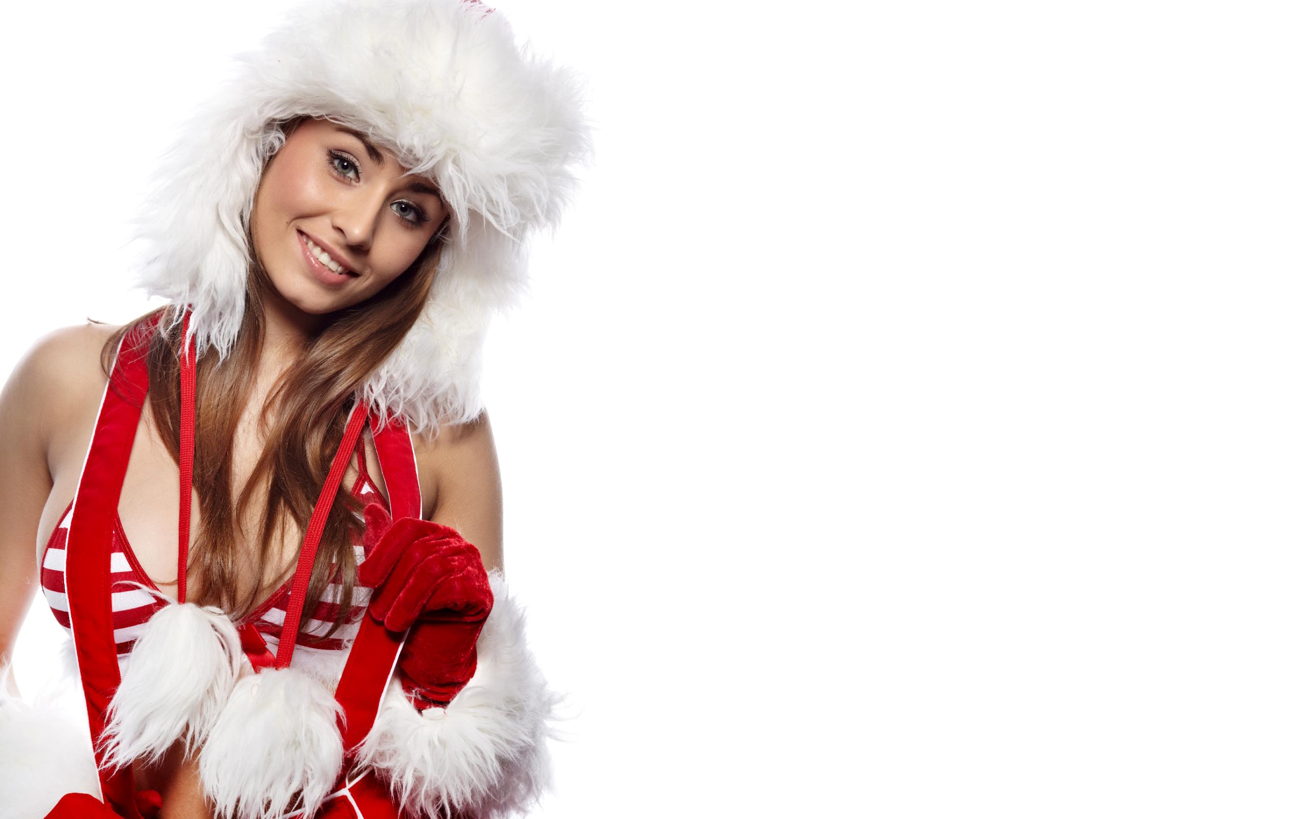 Hot Girl Christmas Wallpaper: View HD Image of Hot Girl Christmas ...